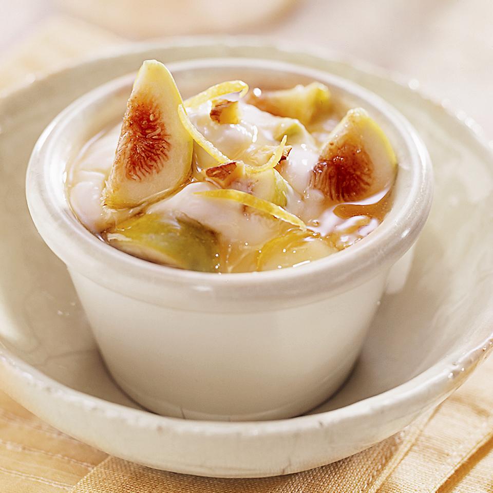 Fresh Figs with Yogurt & Honey Diabetic Living Magazine
