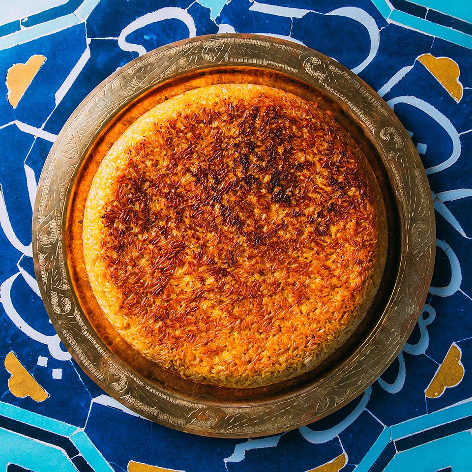 Persian Rice Pie (Tah Chin) Trusted Brands