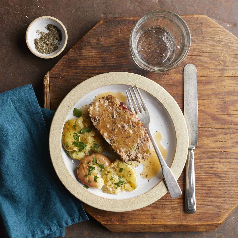 Pressure-Cooker Meatloaf & Potatoes Hilary Meyer