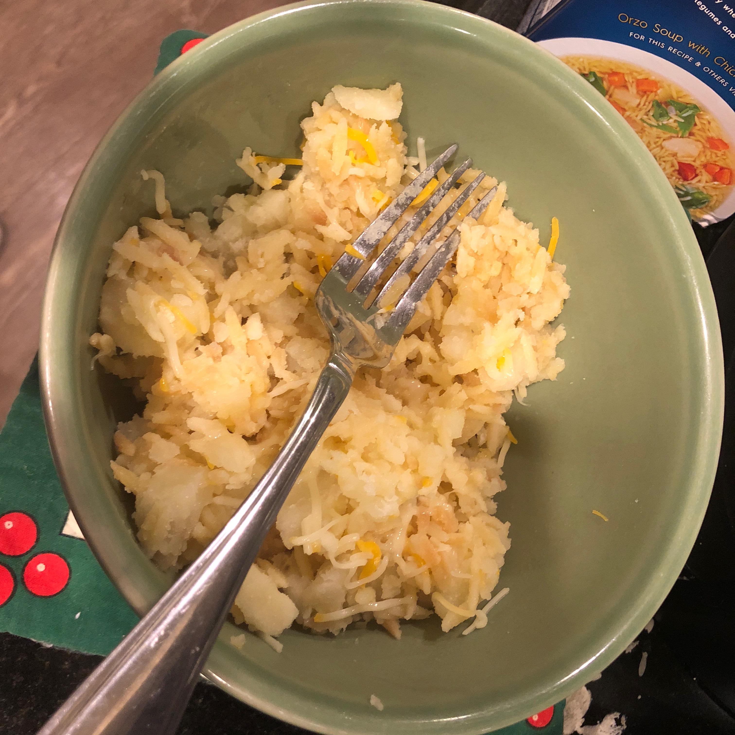 Orzo and Potato Parmesan Kat Parker