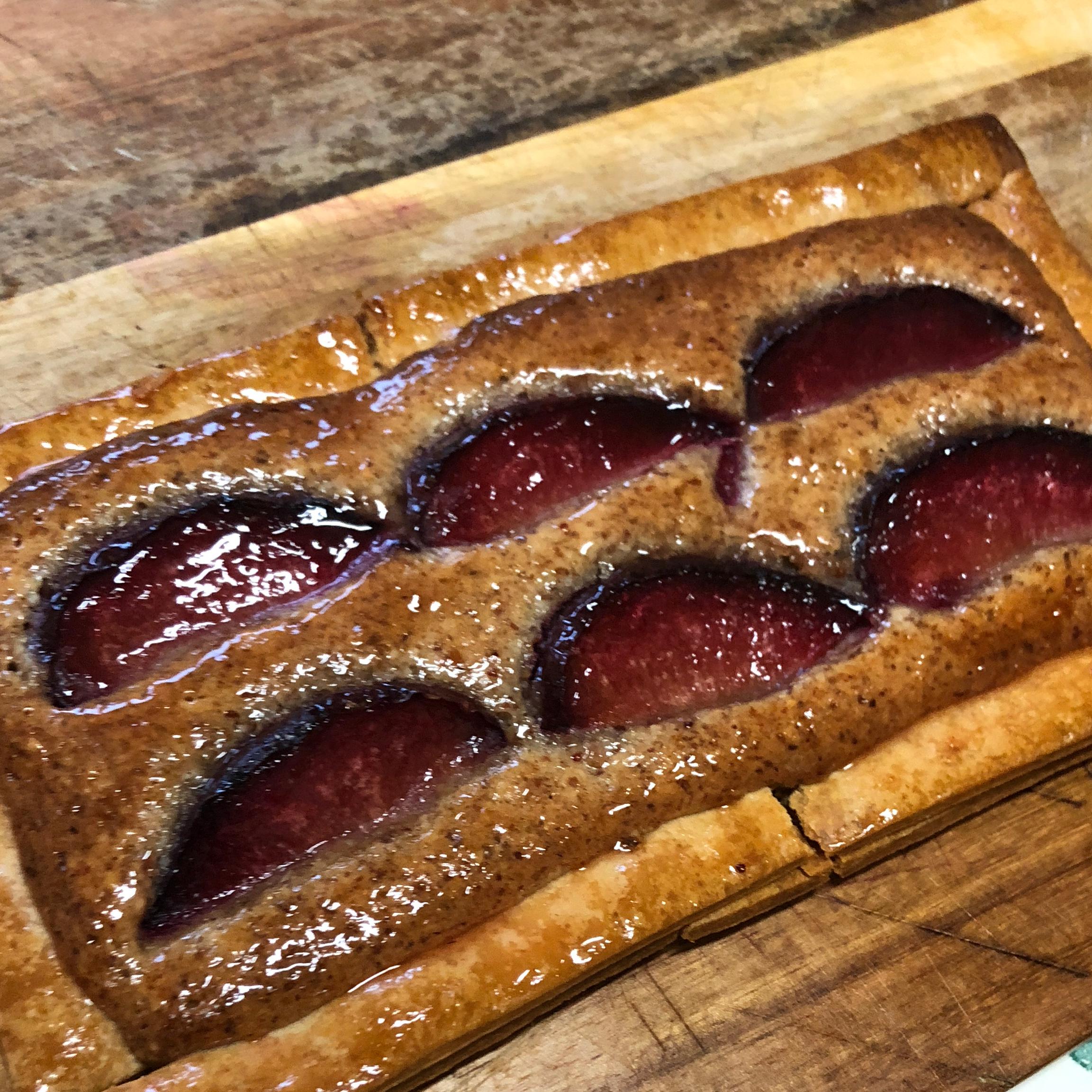 Fresh Fruit Frangipane Tart kyle