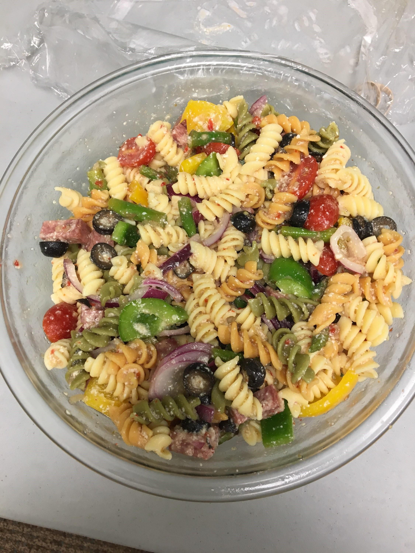 Salami Lover's Italian Pasta Salad Bill