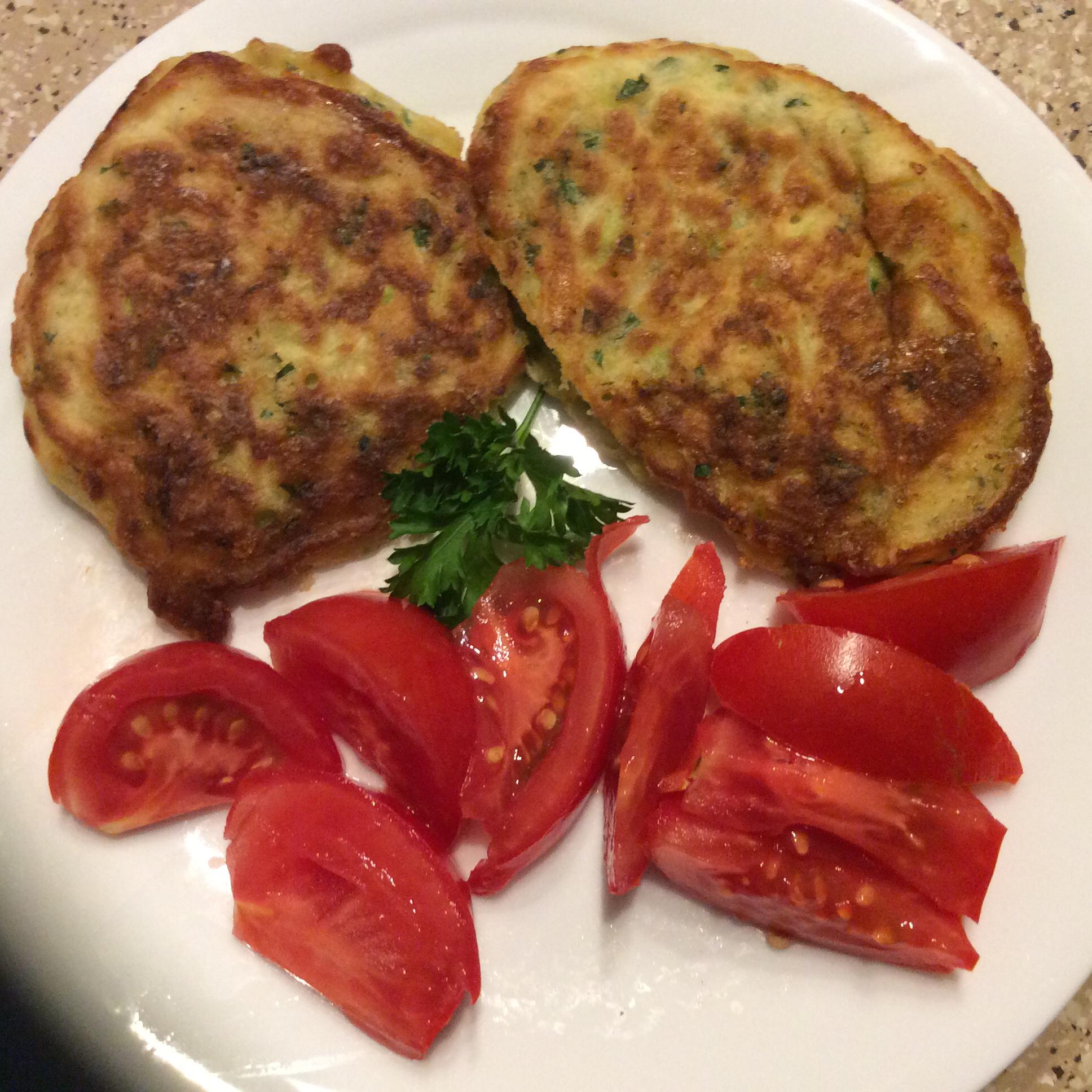 Zucchini Pancakes jeni