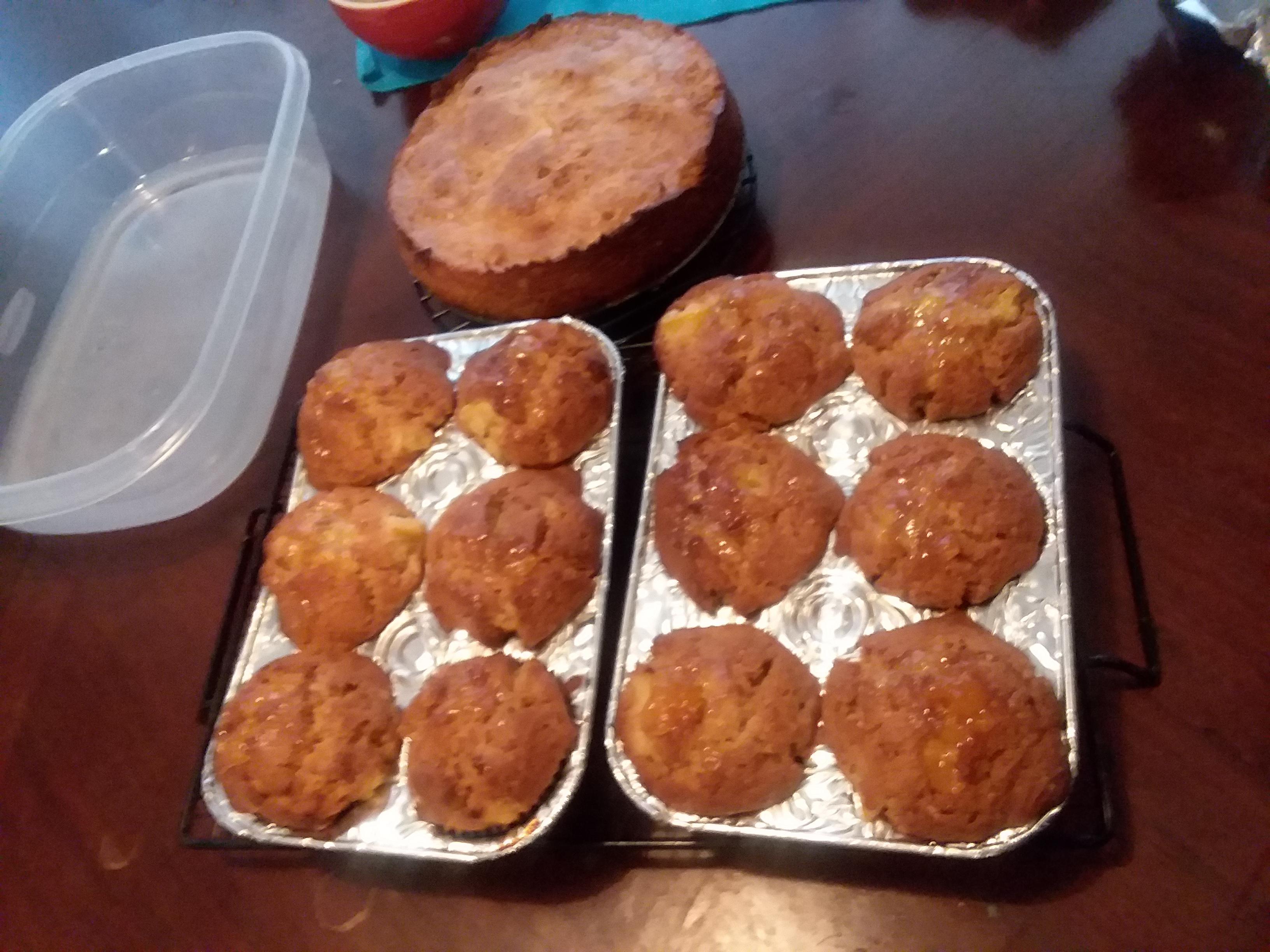 Peach Muffins Kay M