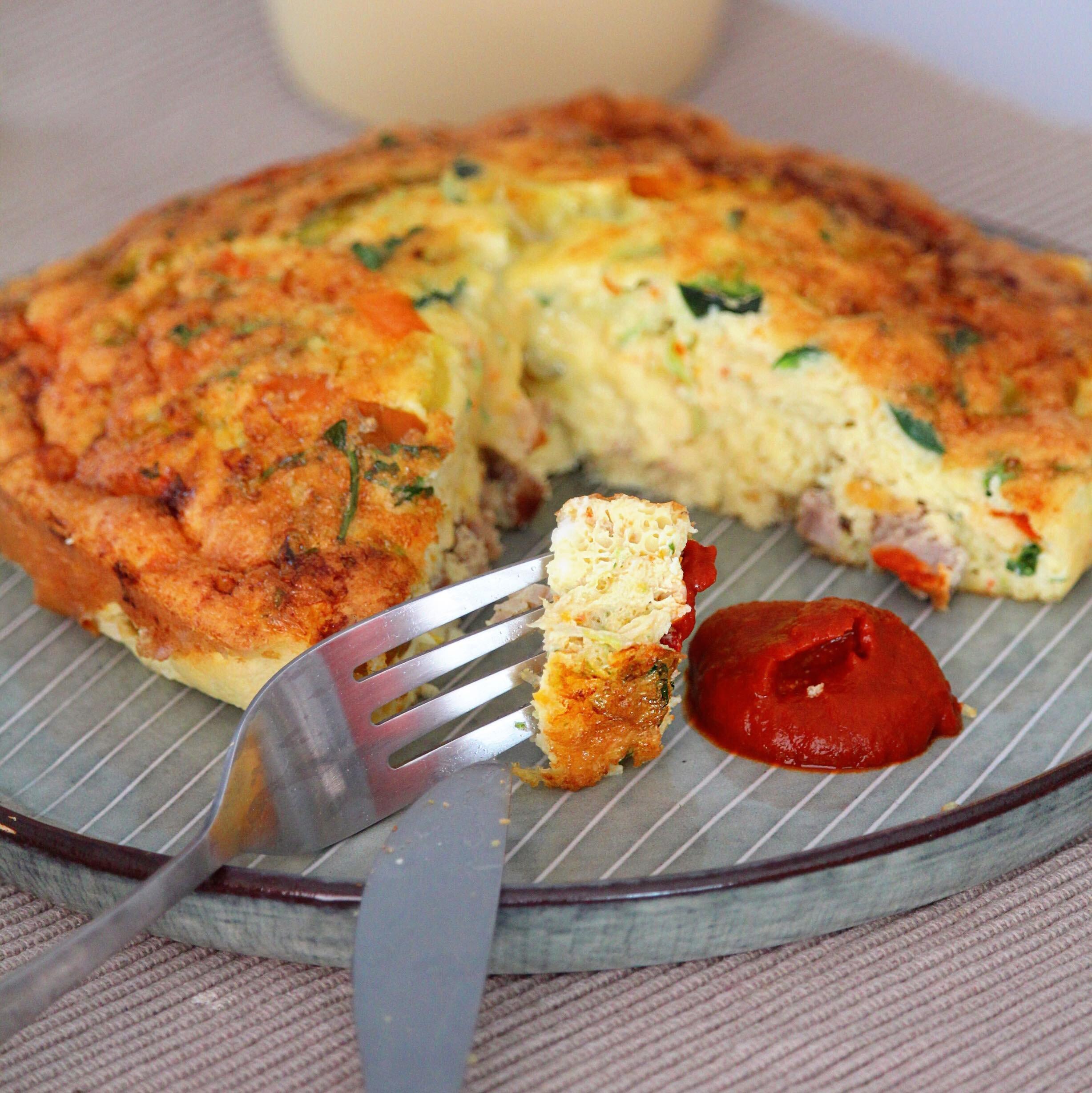 Air Fryer Breakfast Frittata Recipe Allrecipes