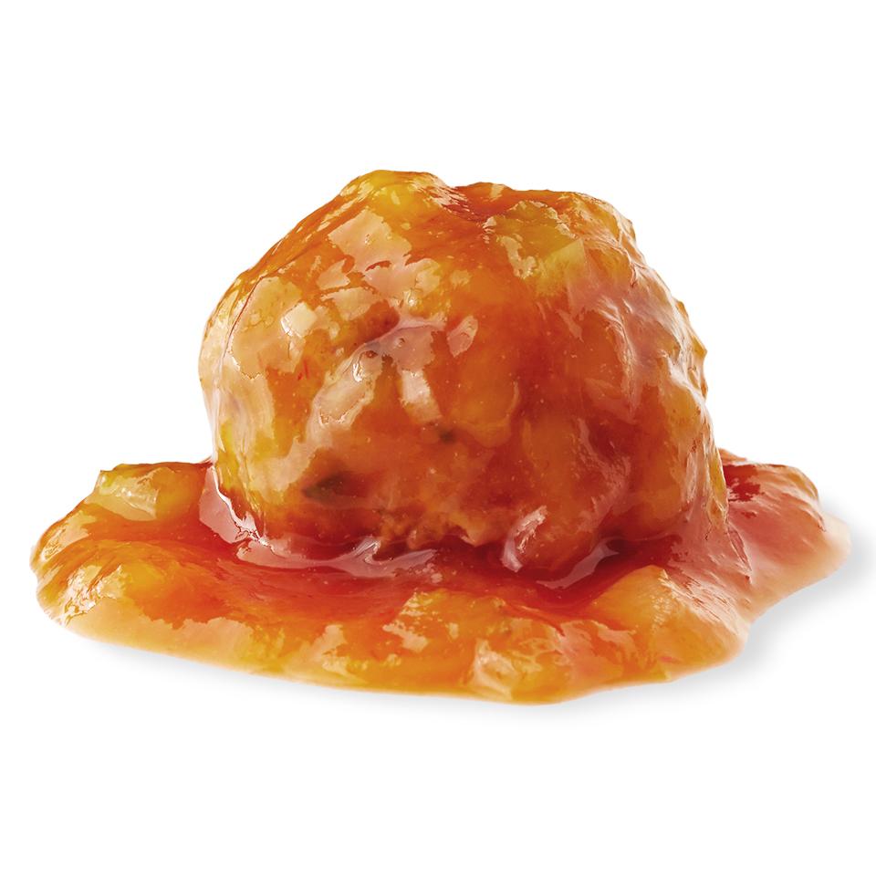 Meatballs with Honey-Mango Barbecue Sauce Diabetic Living Magazine