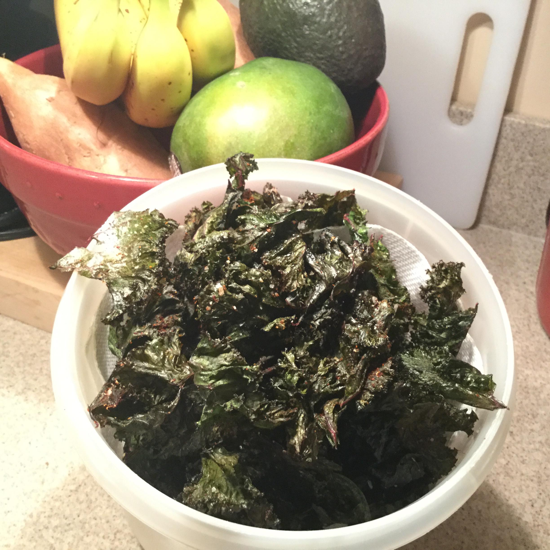 Veggie Kale Chips Mike Whelan