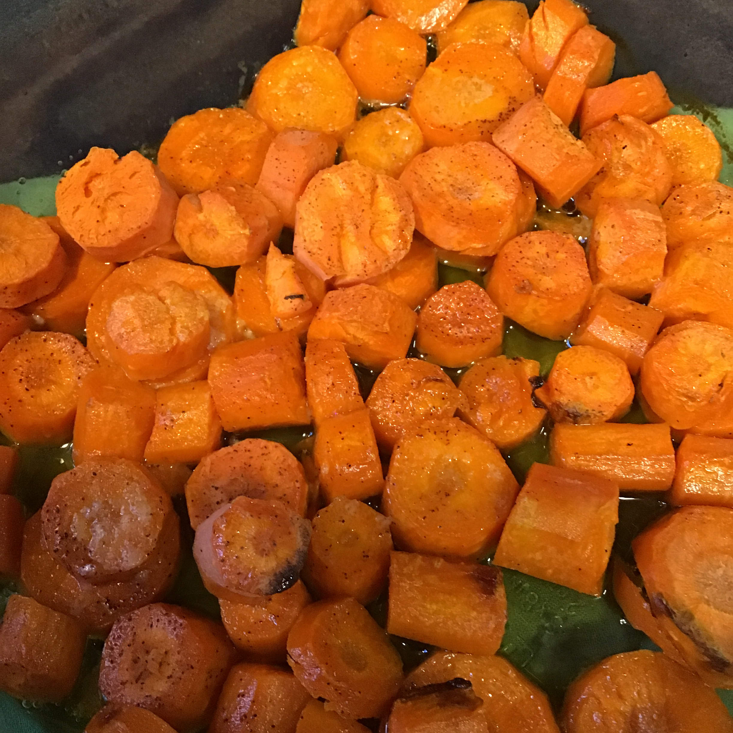 Quick and Easy Baked Carrots Rebecca Russell Miller