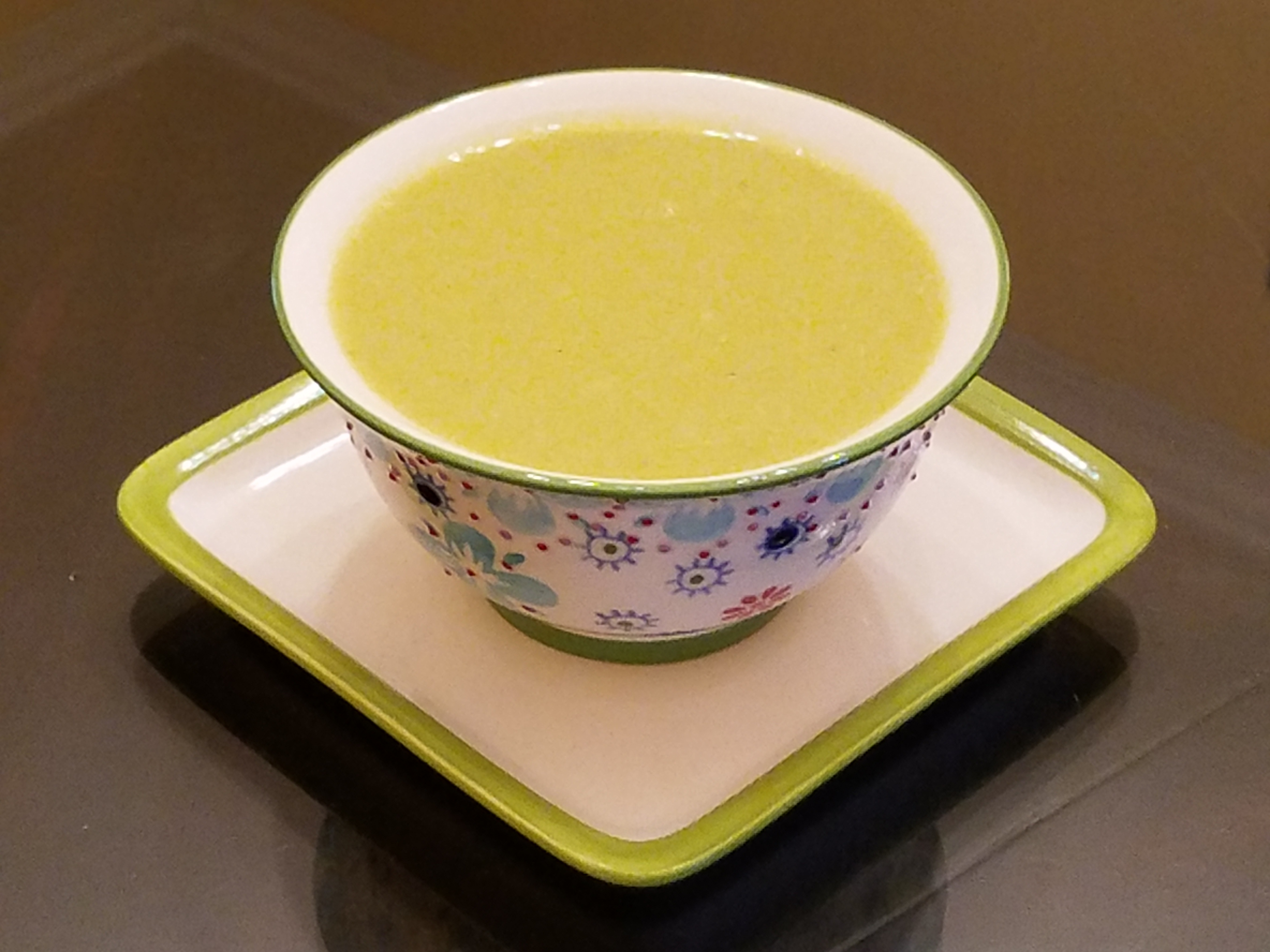 Spicy Cream of Asparagus Soup
