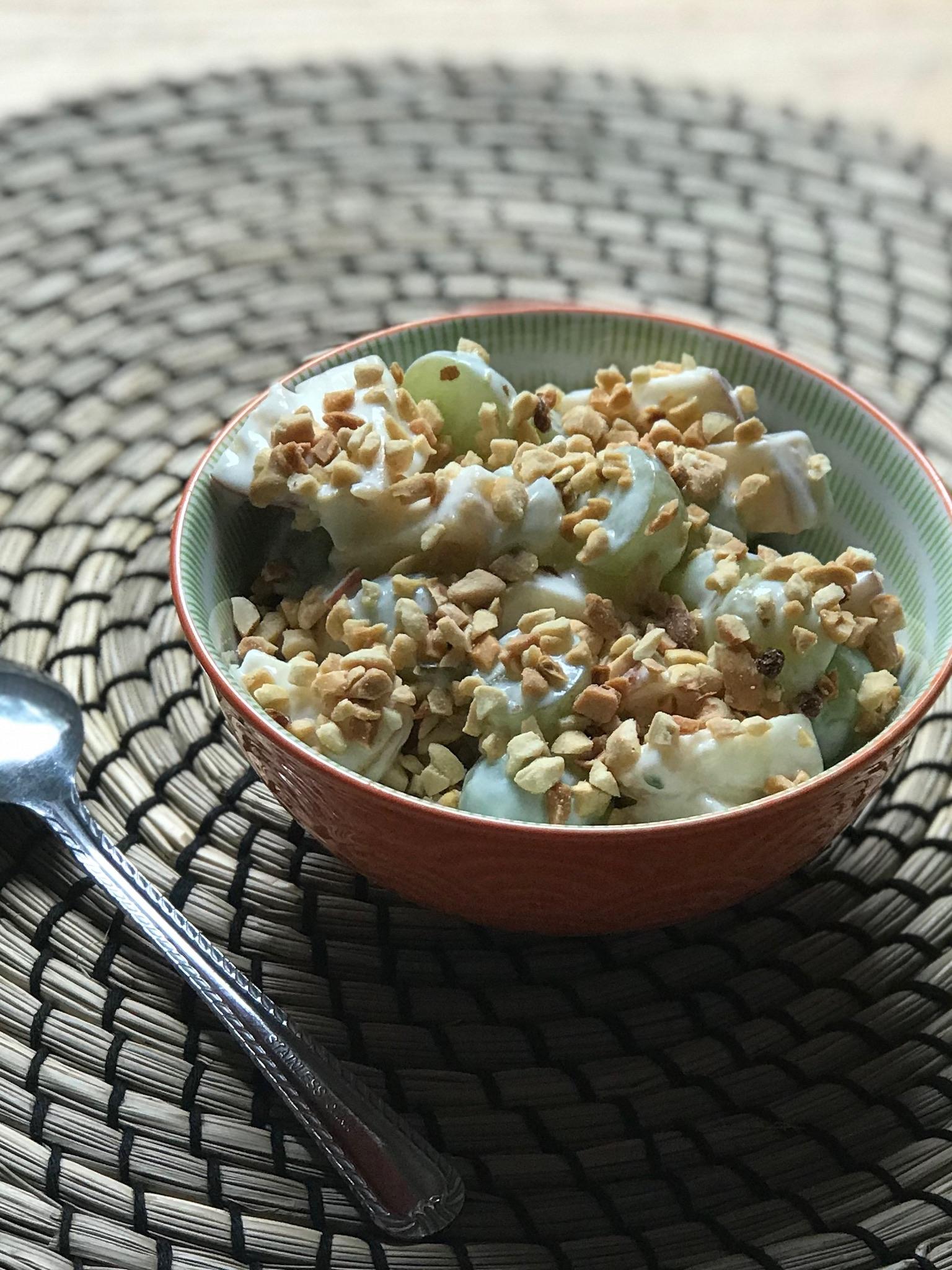 Grape Apple Breakfast Salad