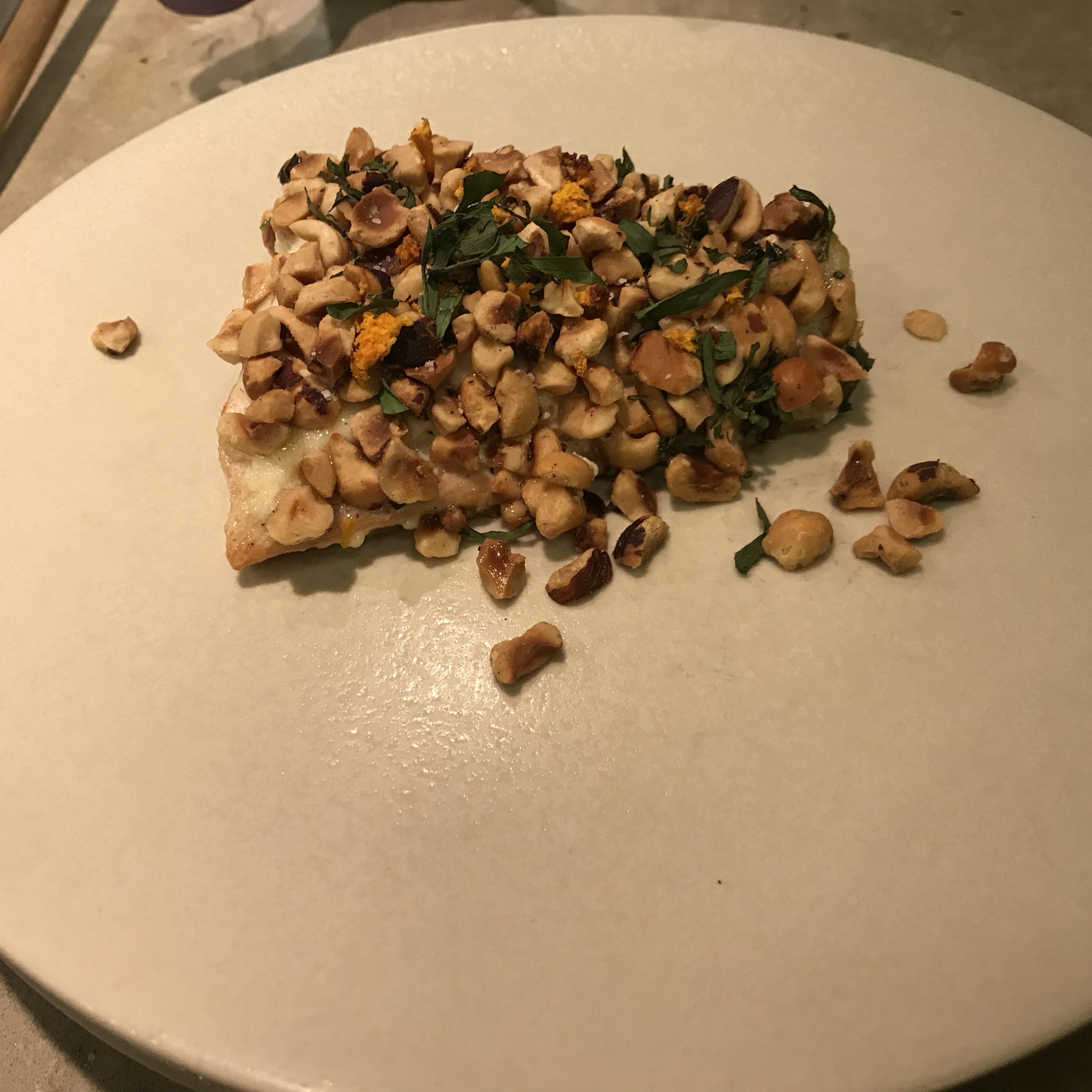 Hazelnut-Crusted Salmon breadmenace