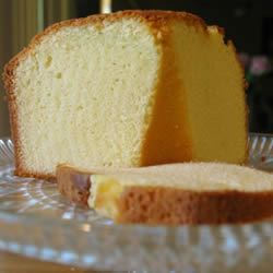 Yellow Pound Cake Carol