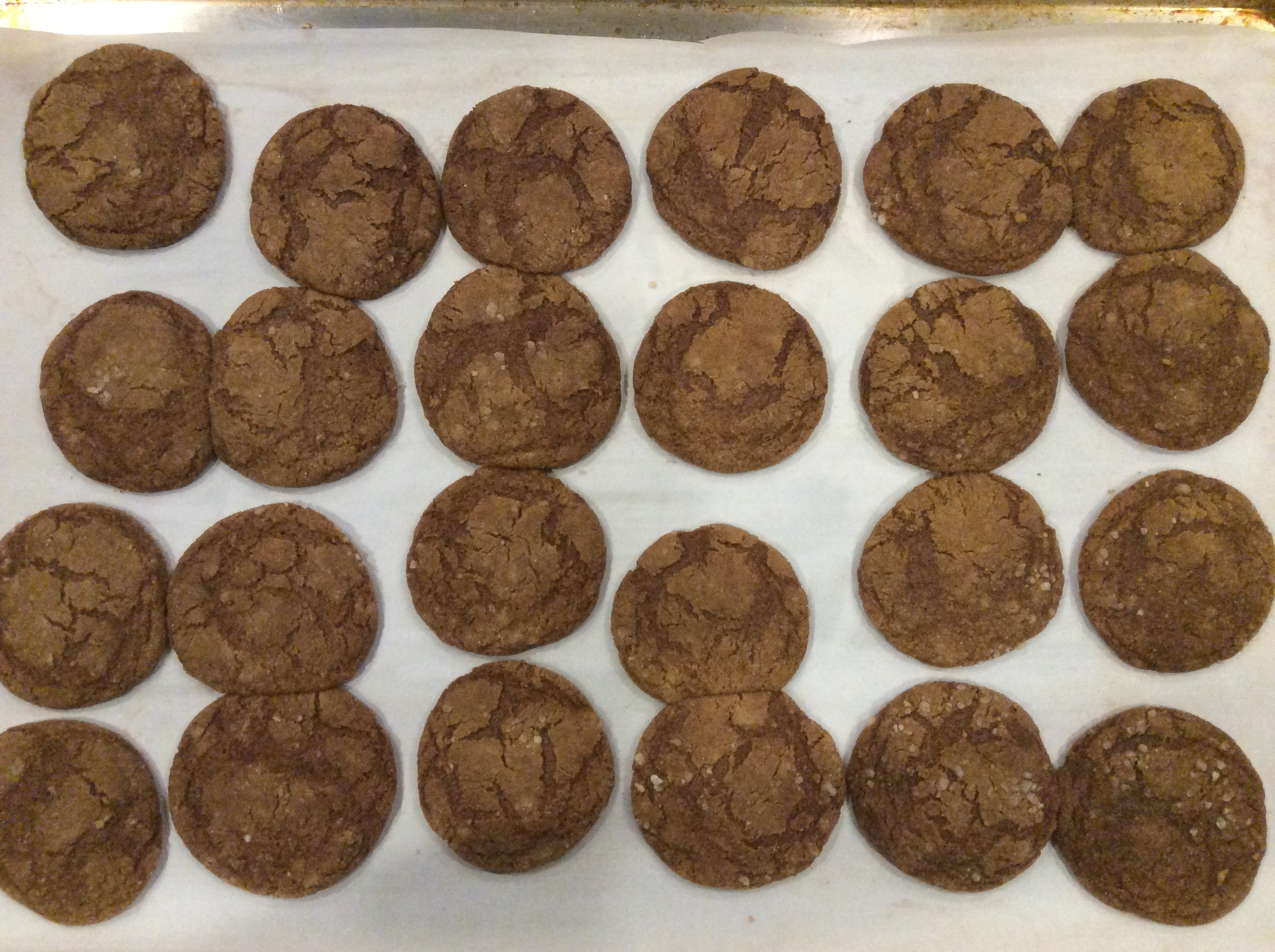 Triple the Ginger Cookies