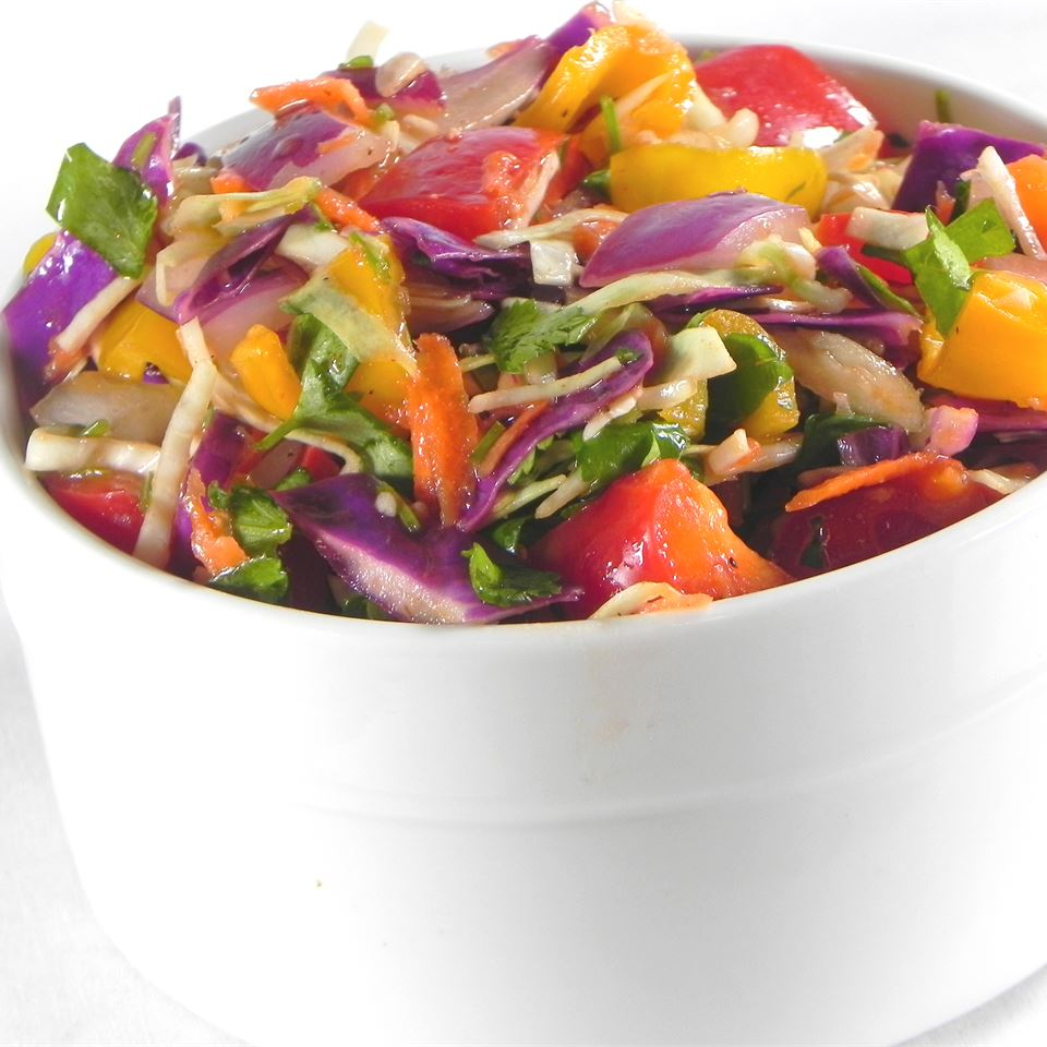 Colorful Coleslaw with a Kick Soup Loving Nicole