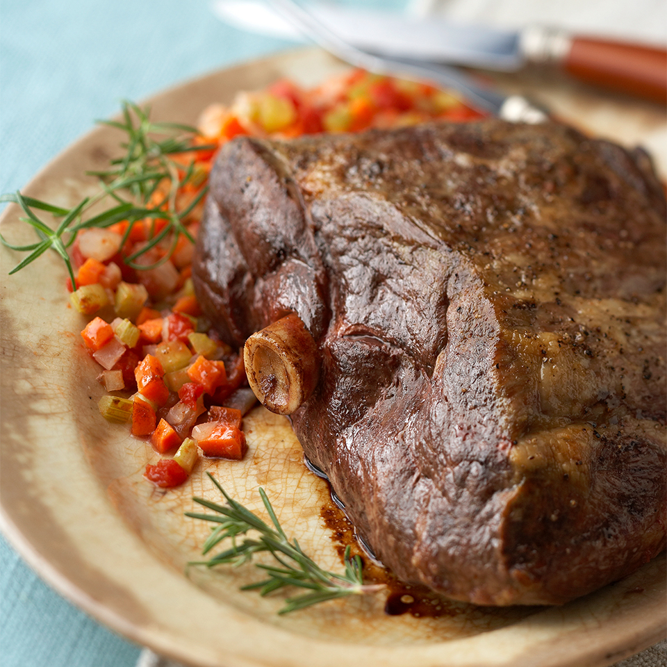 Rosemary Roast Leg of Lamb Diabetic Living Magazine