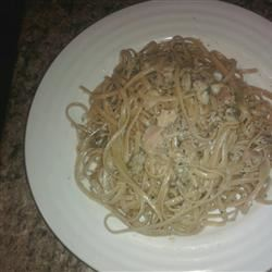 Spaghetti with White Clam Sauce