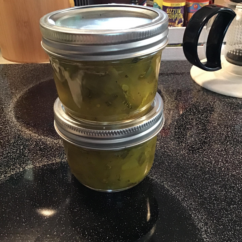 Sweet Zucchini Relish Pam Leighton