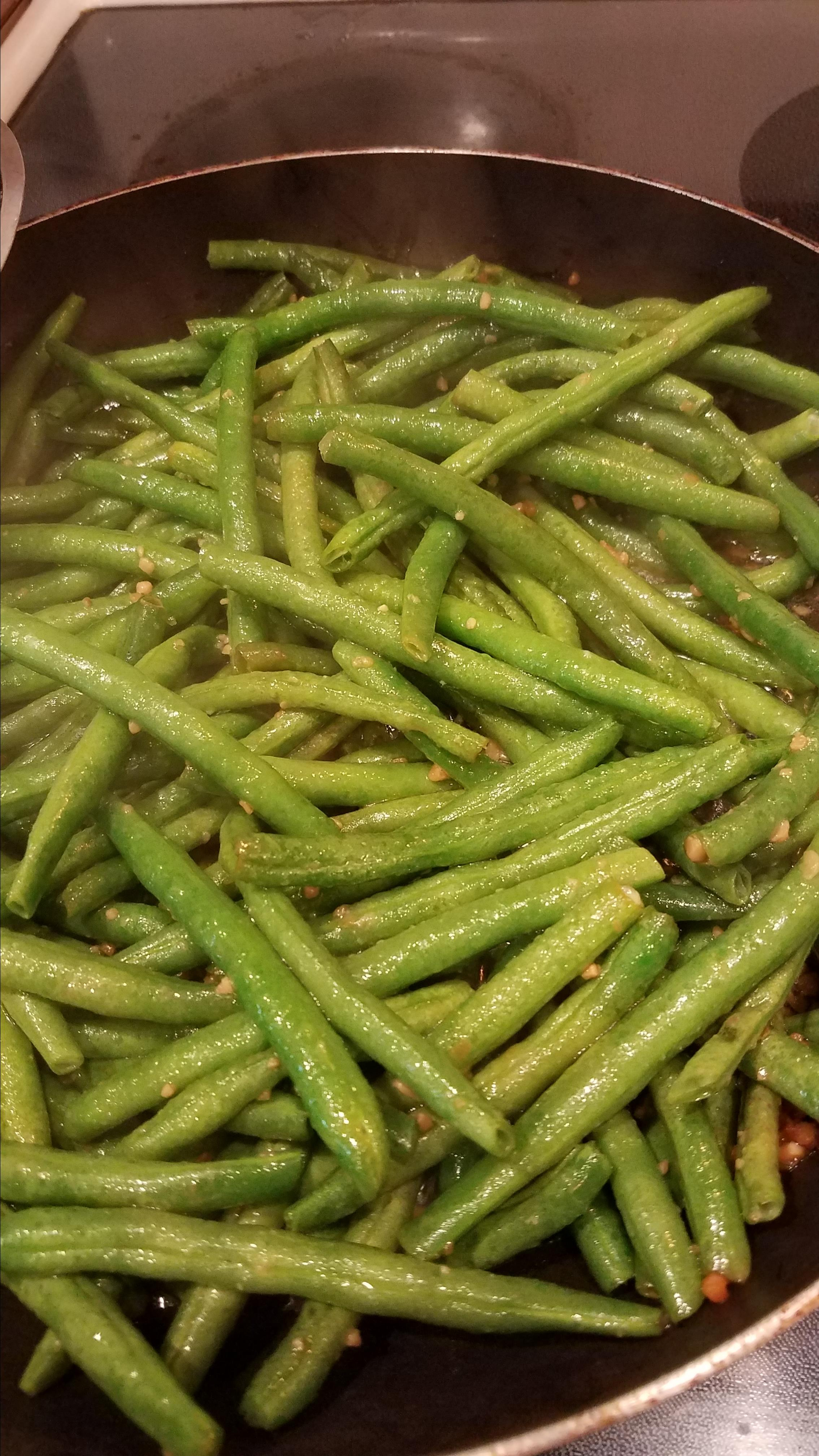'Chinese Buffet' Green Beans Christi Callahan