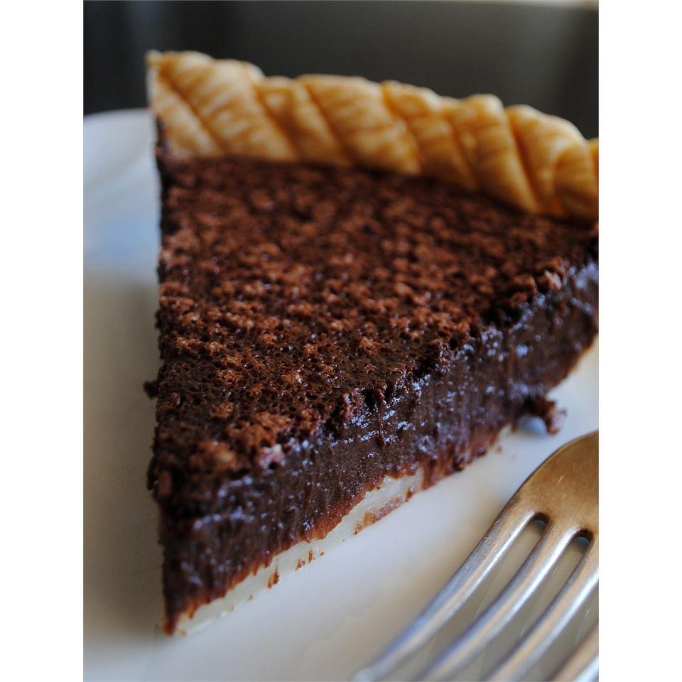 Chocolate Chess Pie II C.P.