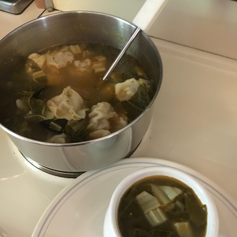 Wonton Soup With A Kick