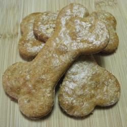 Peanut Butter and Banana Dog Biscuits sous
