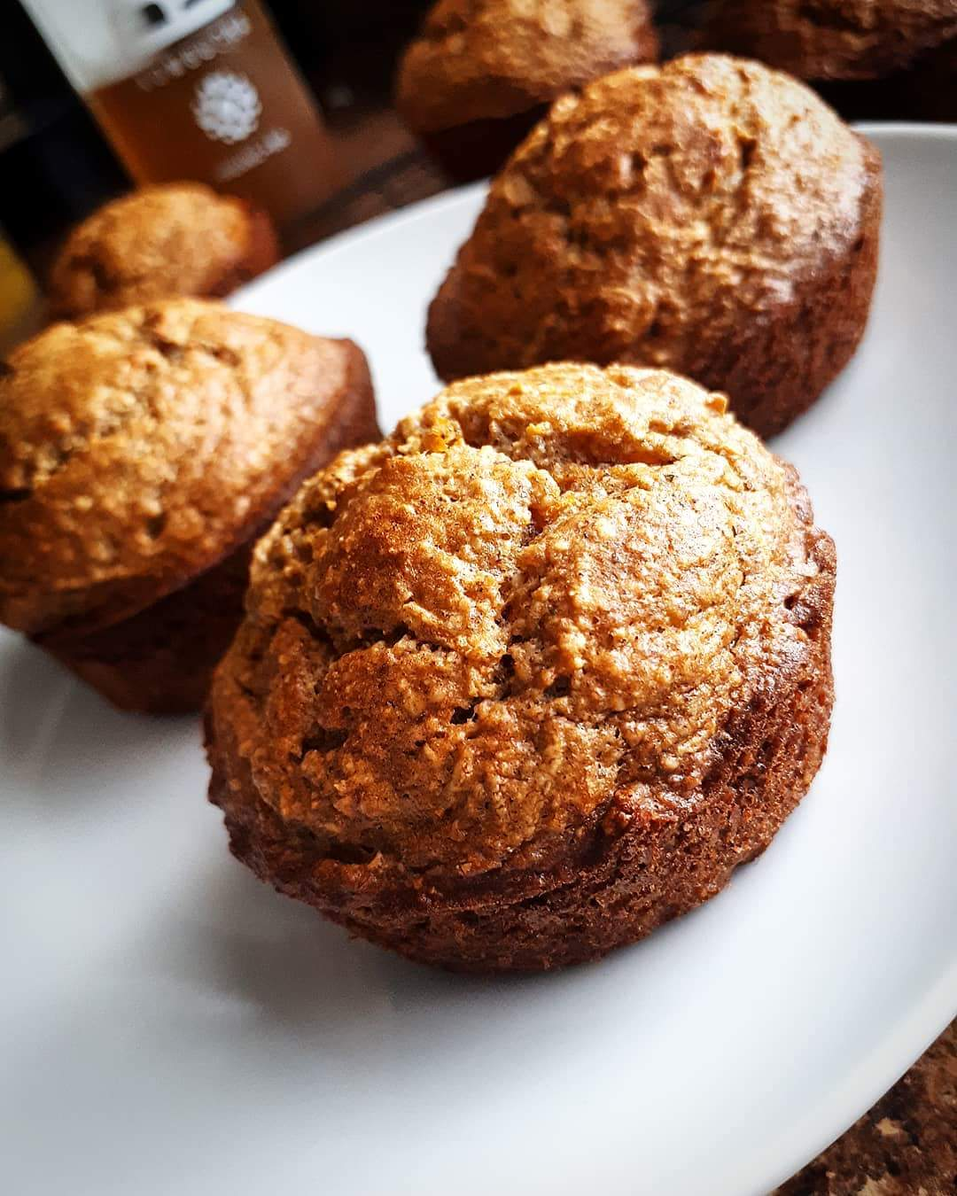 Clean Carrot Muffins Chef V