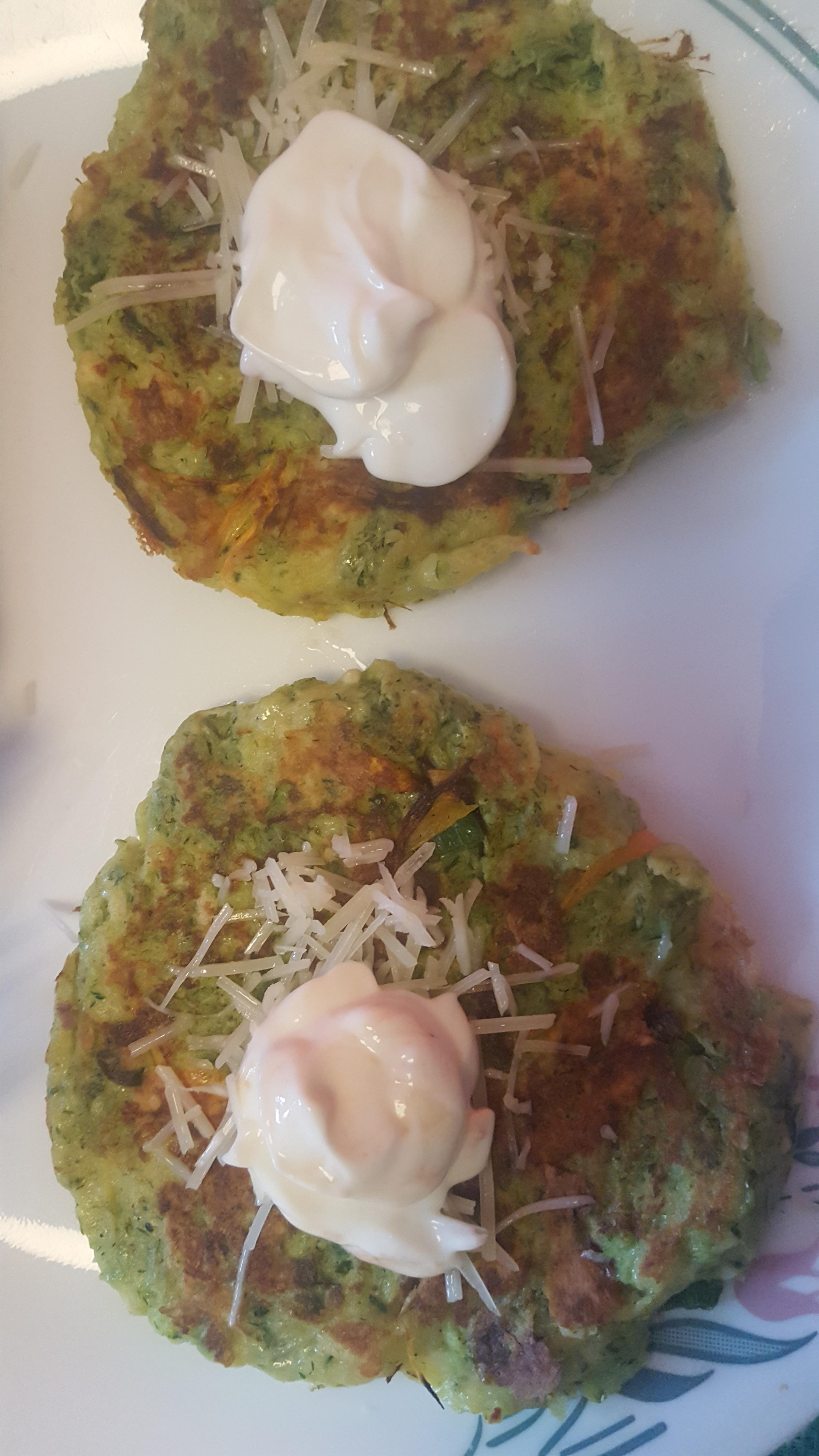 Easy Zucchini Fritters JC