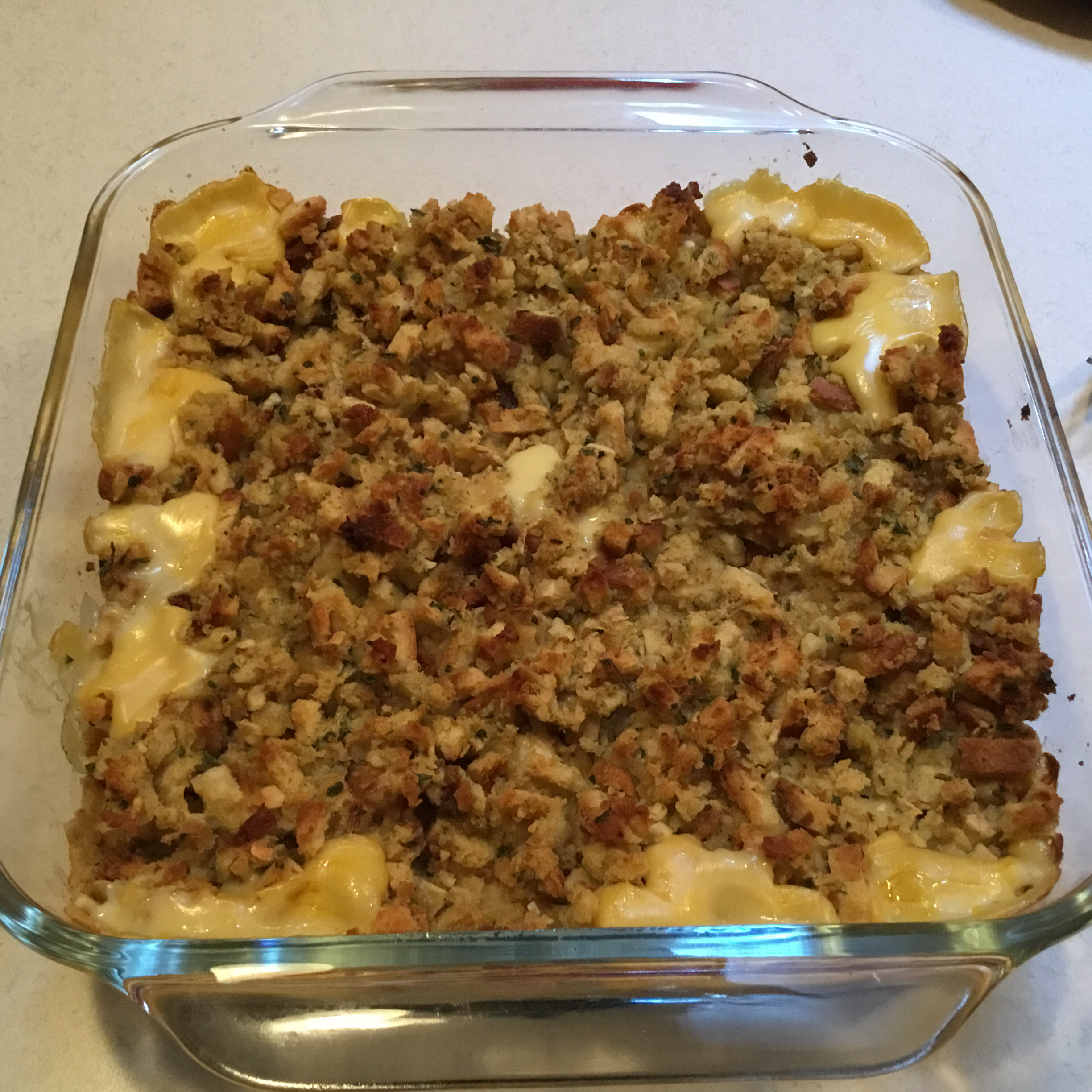 Stacey's Chicken and Stuffing Casserole Louise