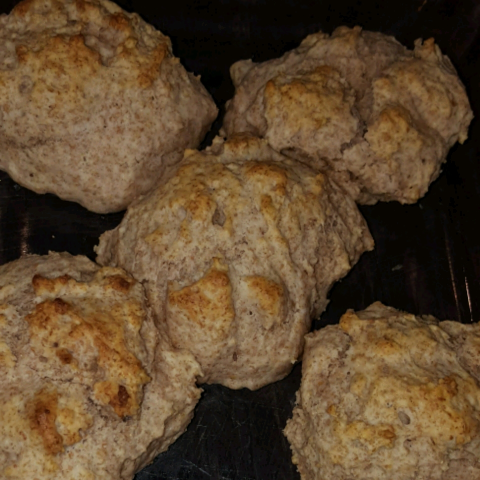 Whole Wheat Drop Biscuits ChefHumes