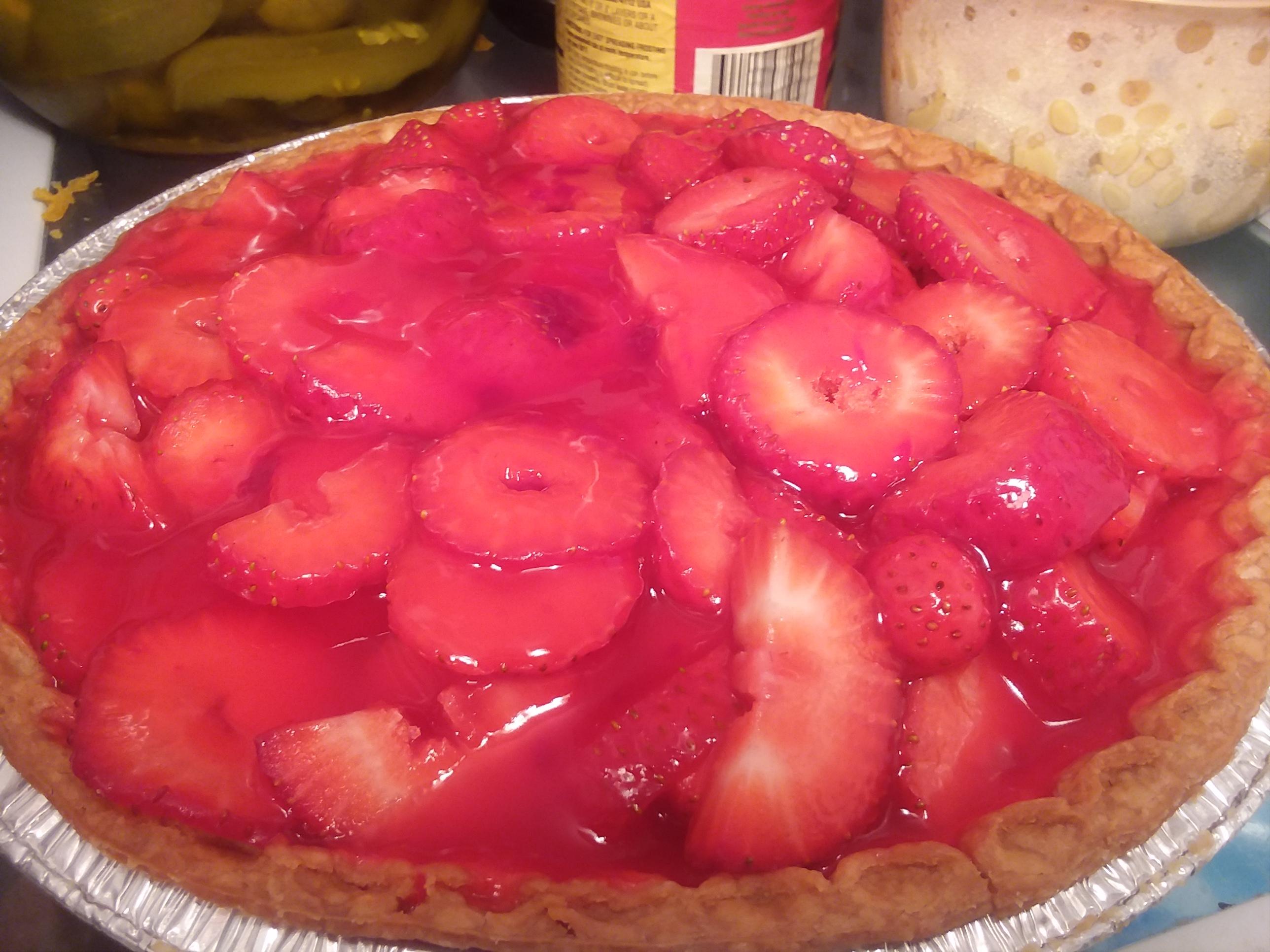 Strawberry Pie V vicki