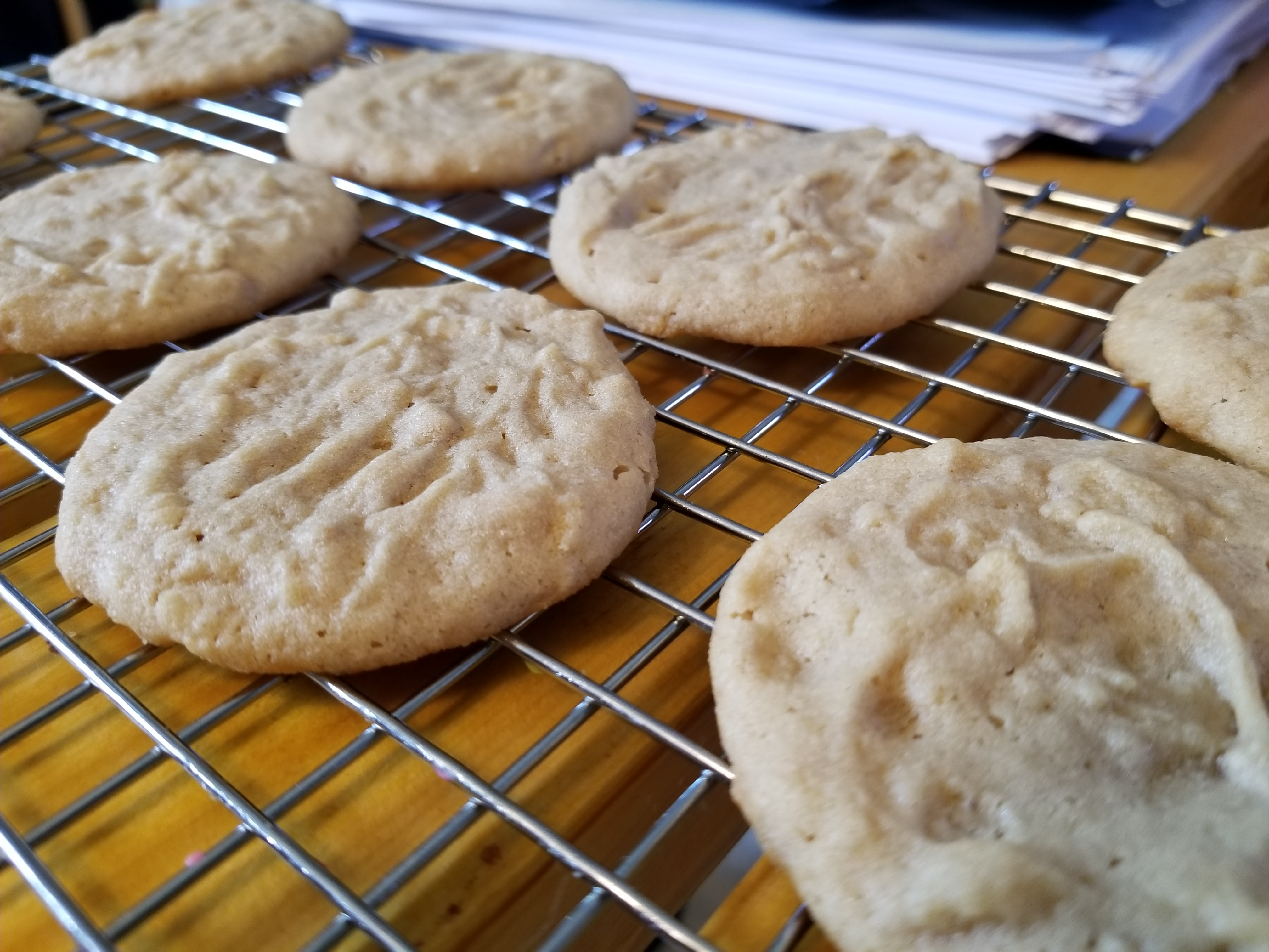 Joey's Peanut Butter Cookies Kihran