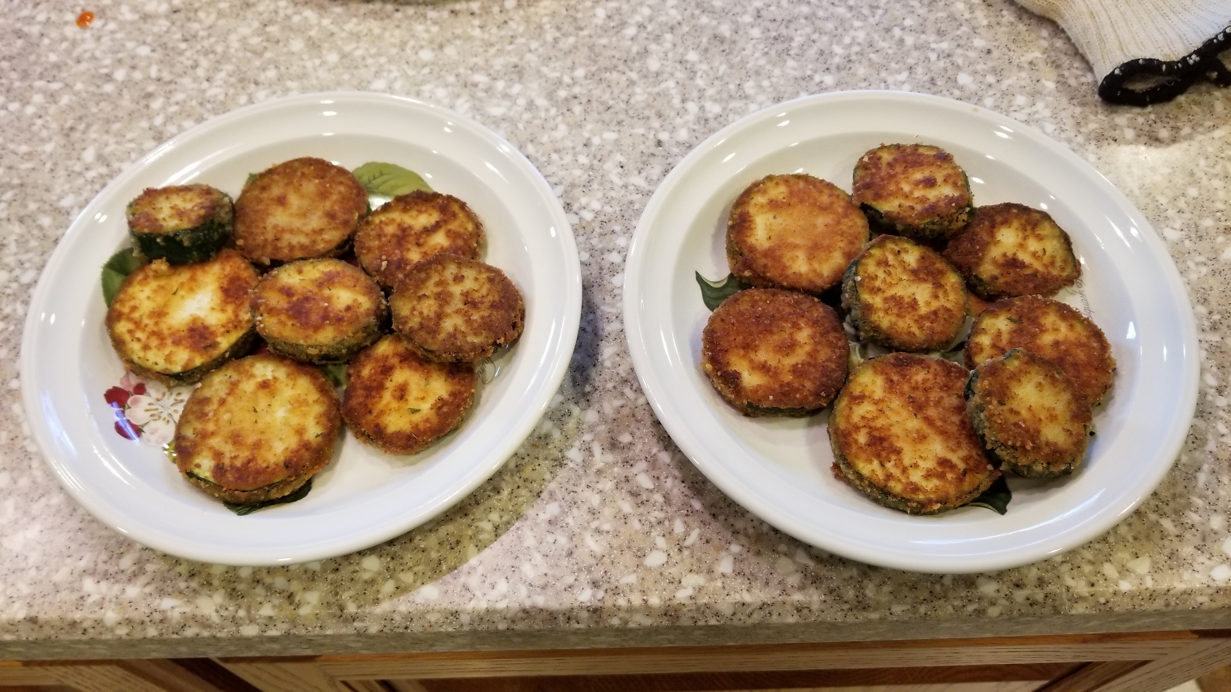 Kelli's Fried Green Zucchini Luke