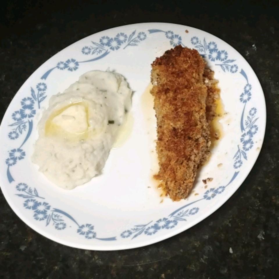 Lemon Pepper Butter-Baked Fish