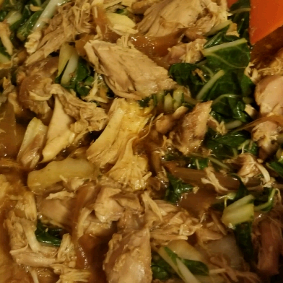 Slow Cooker Adobo Chicken with Bok Choy Eric Bussey