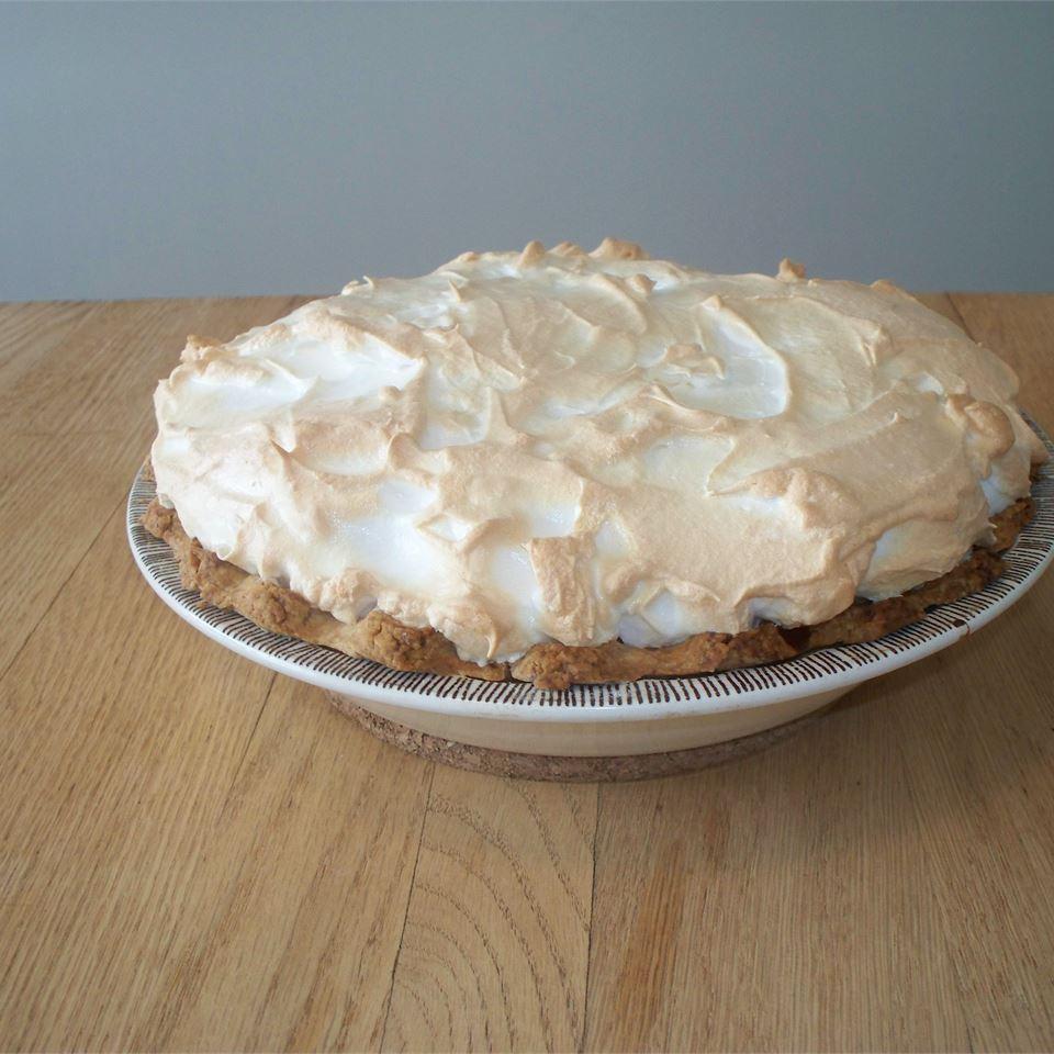 Orange Custard Pie