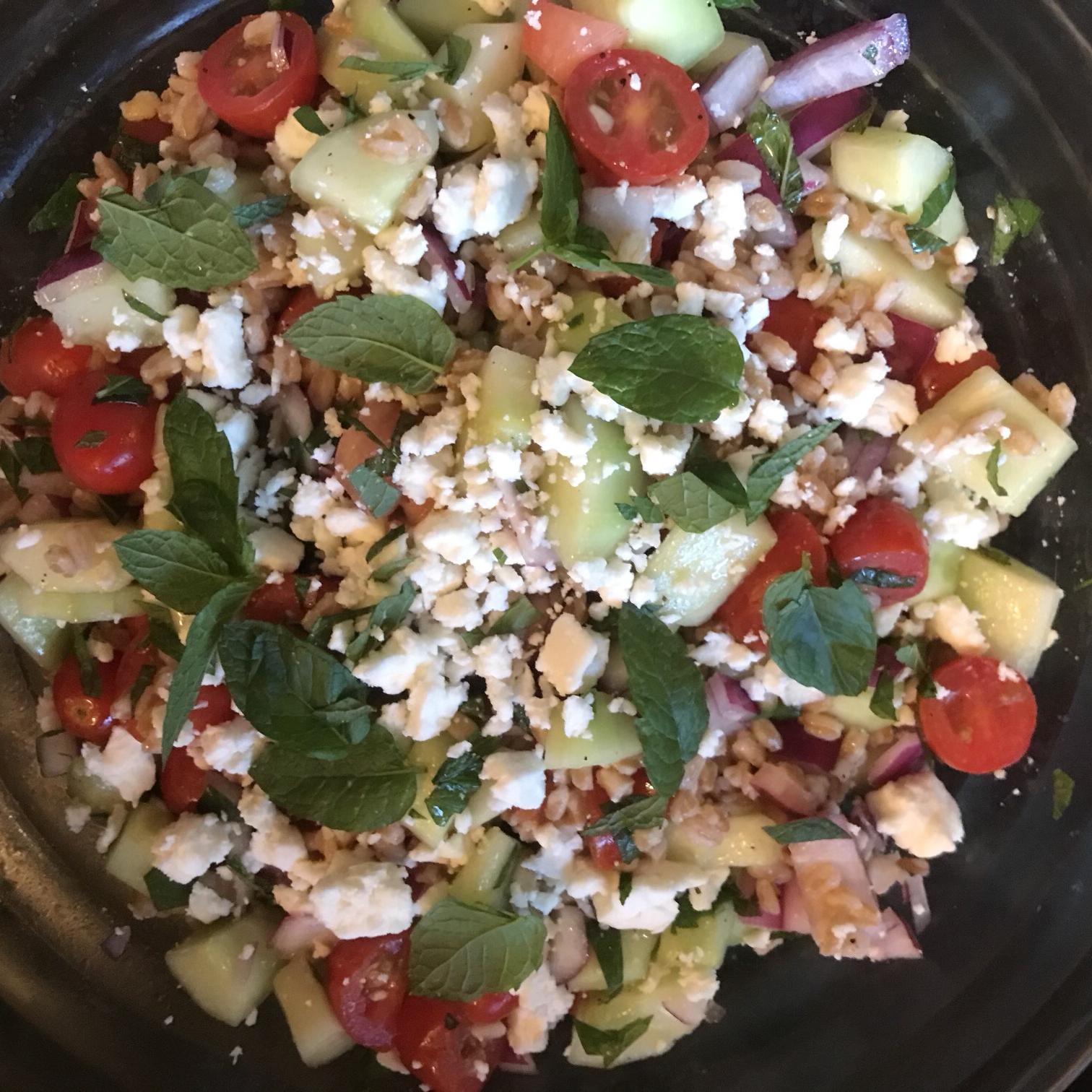 Greek Farro Salad Christopher Eamon