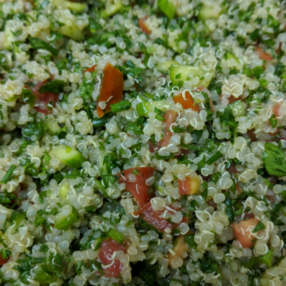 Kale Tabbouleh with Quinoa Janese Henson
