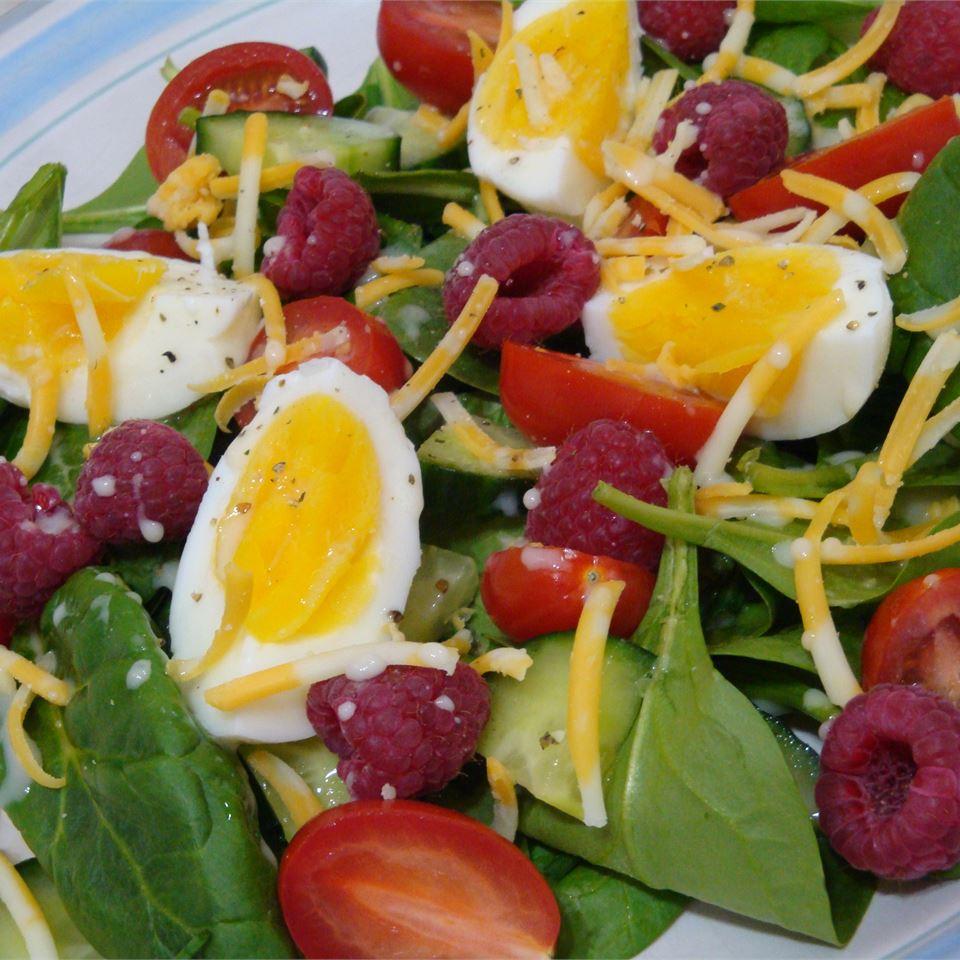 Blackberry Spinach Salad Gitano
