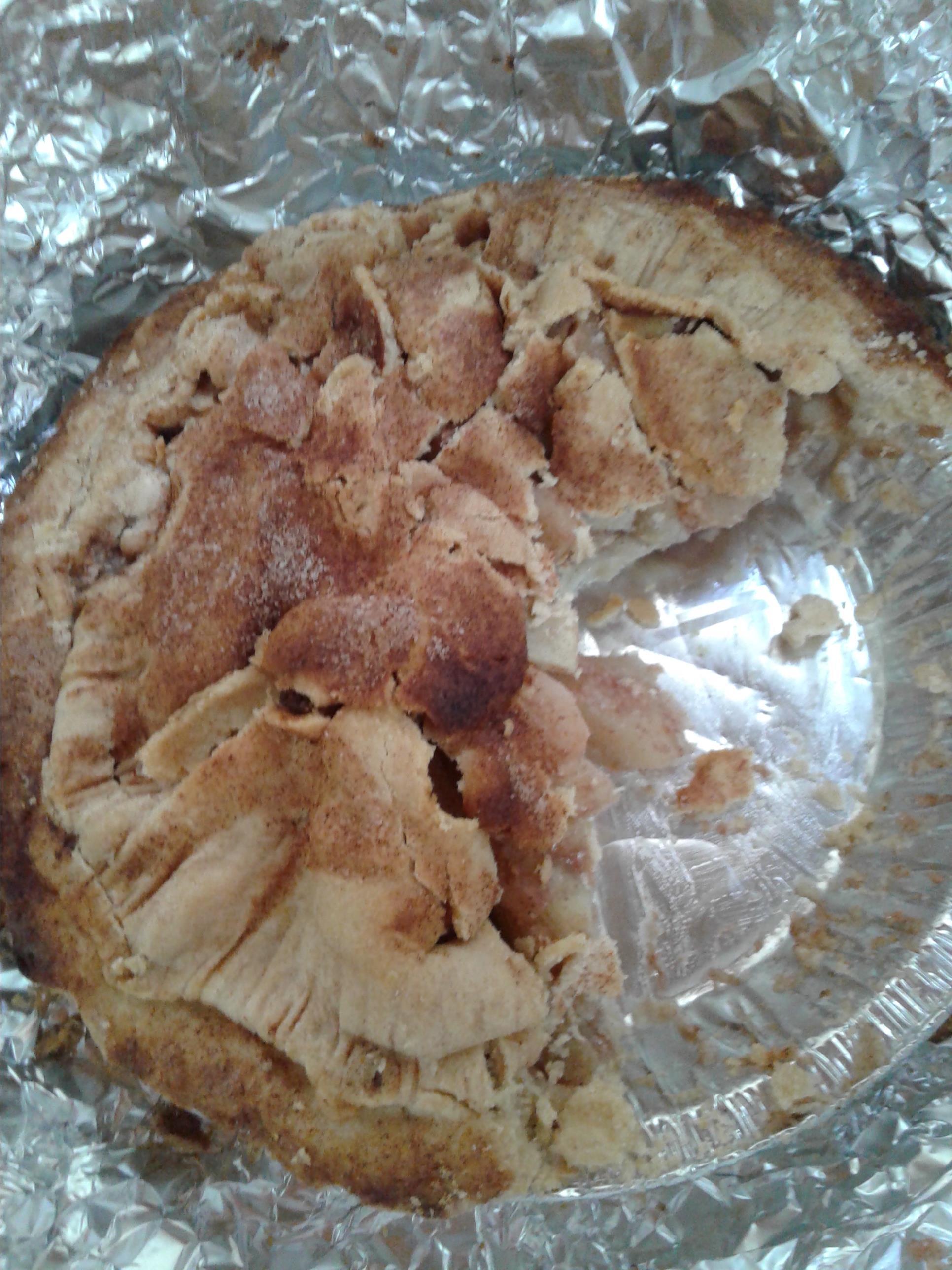 Spiced Pear & Apple Pie wmrdalydvm