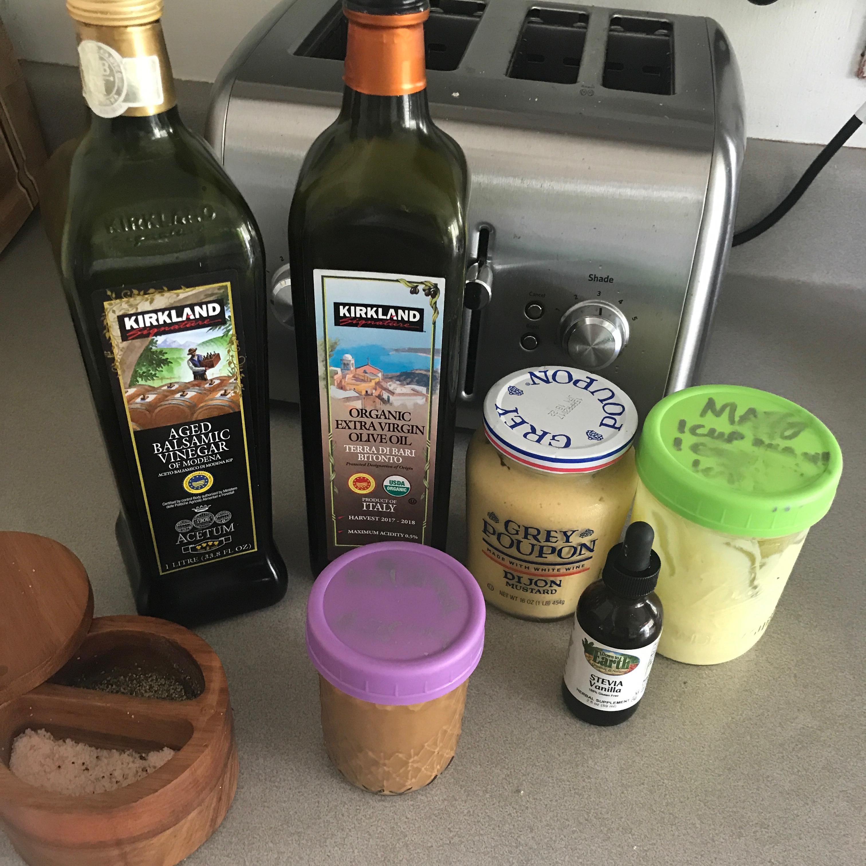 Creamy Balsamic Vinaigrette roseatrockypoint