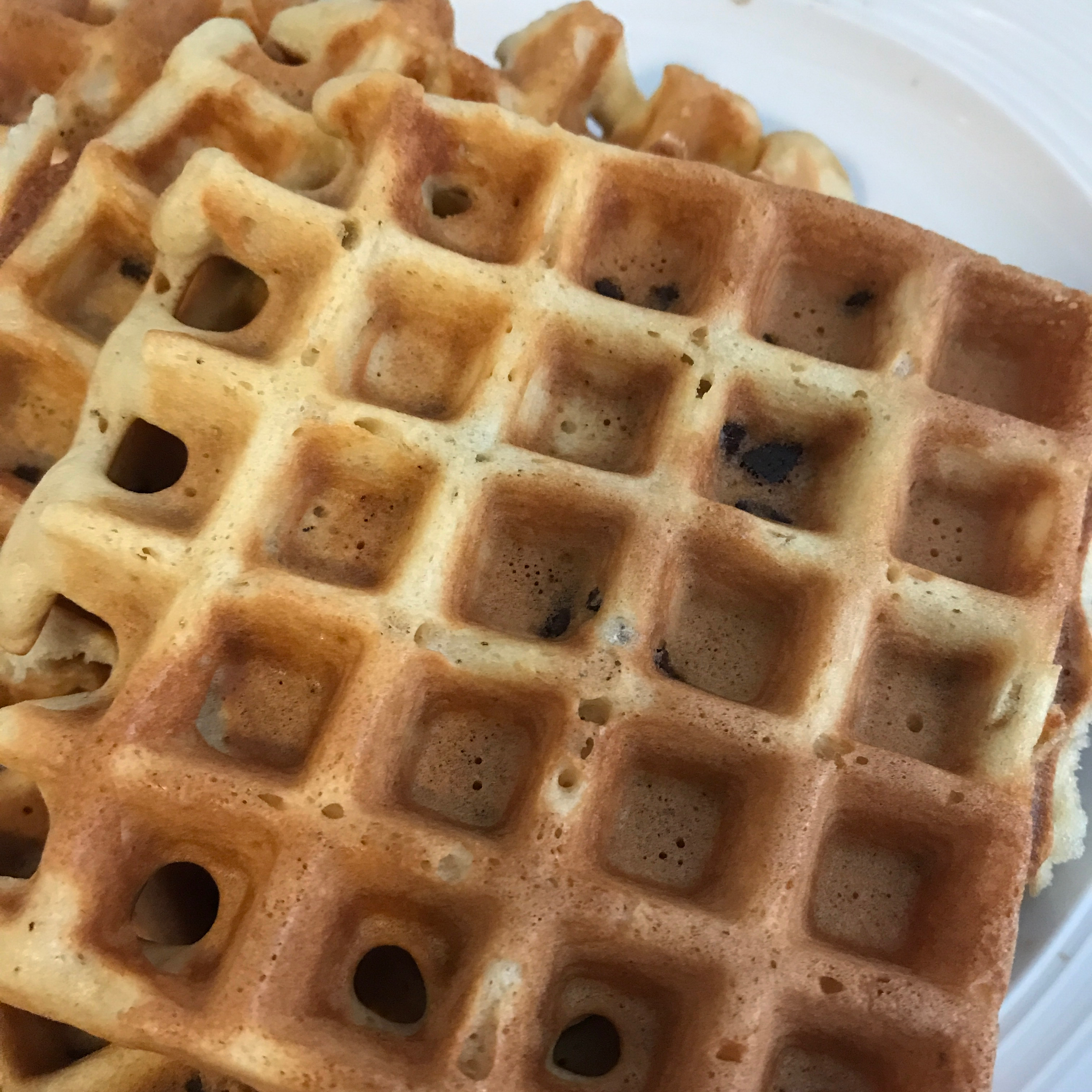 Candied SPAM® Waffles windy