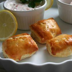 Salmon Puffs foodaholic