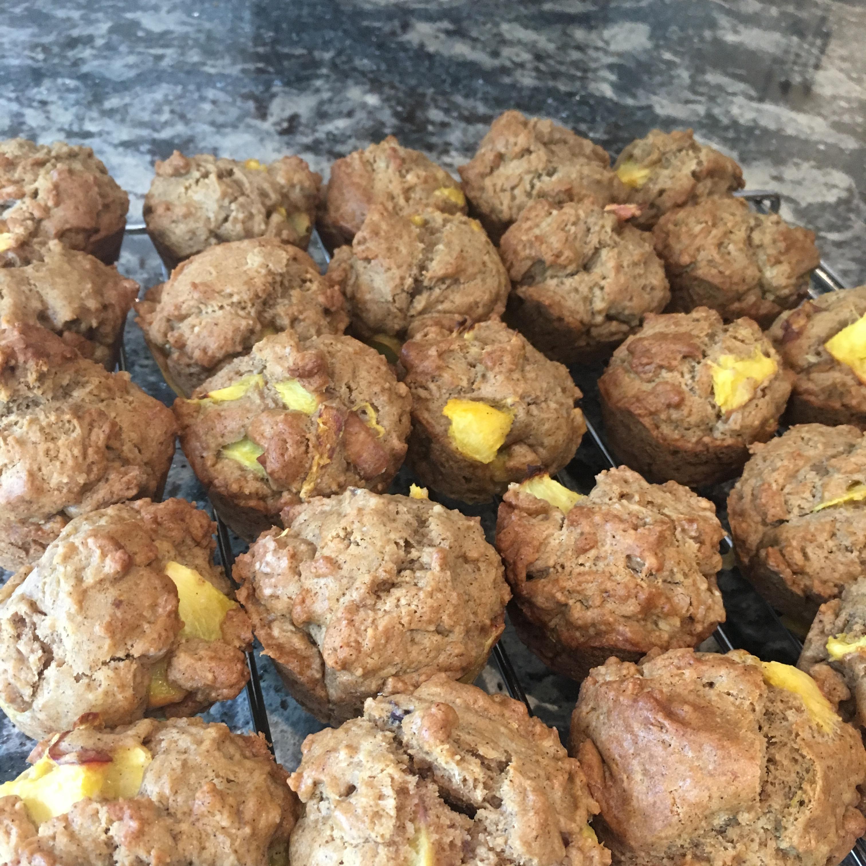 Peach Muffins Kayleigh