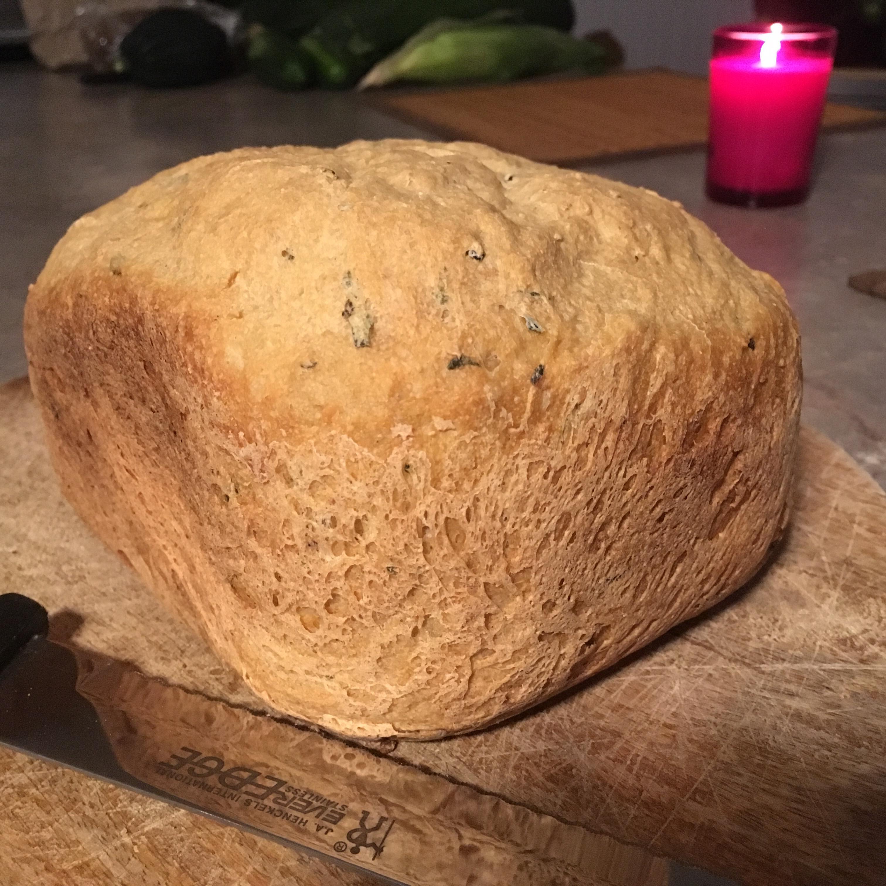 Whole Wheat Zucchini Herb Bread sgallina81