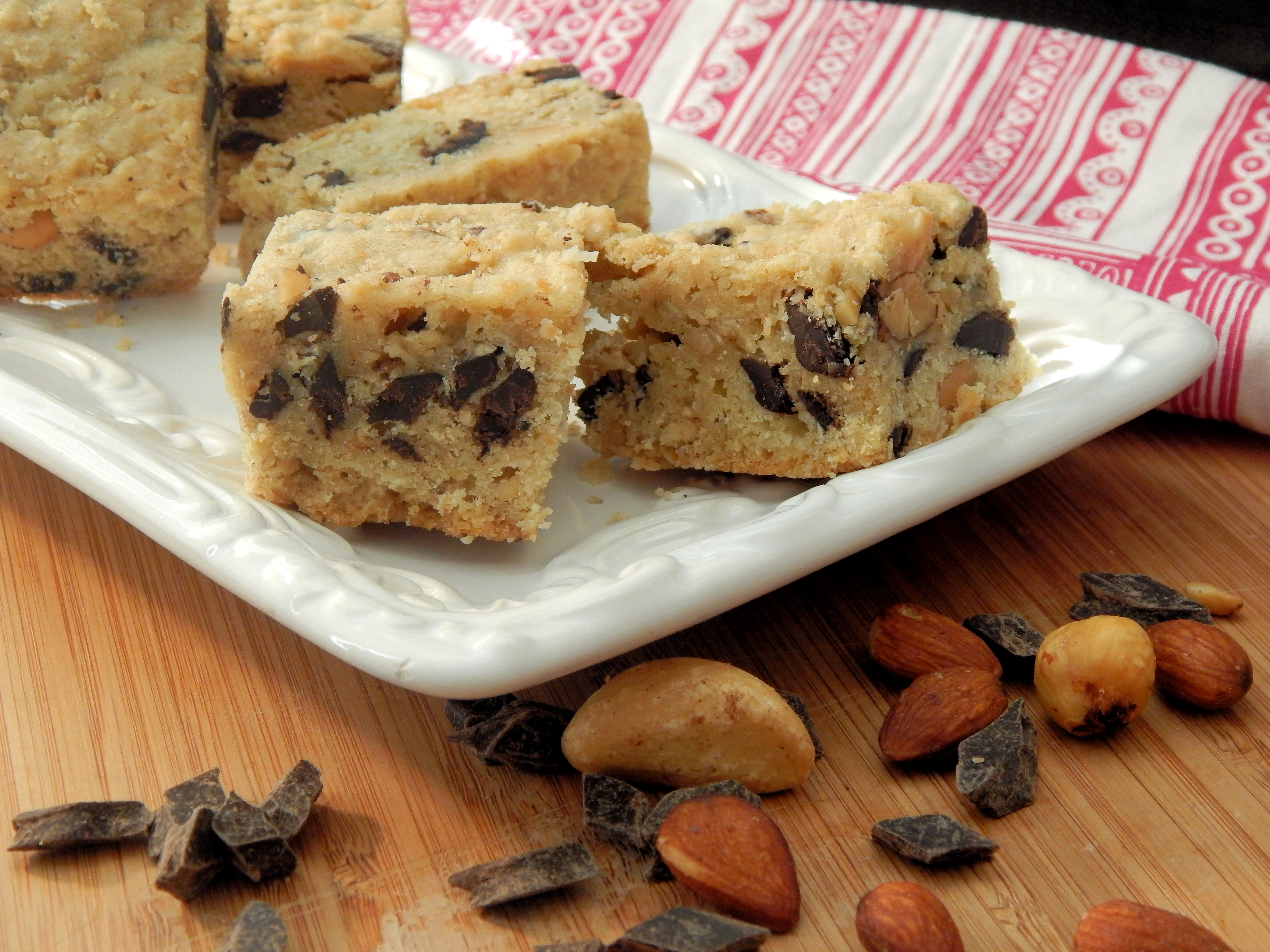 Oat and Chocolate Chip Bar Cookies