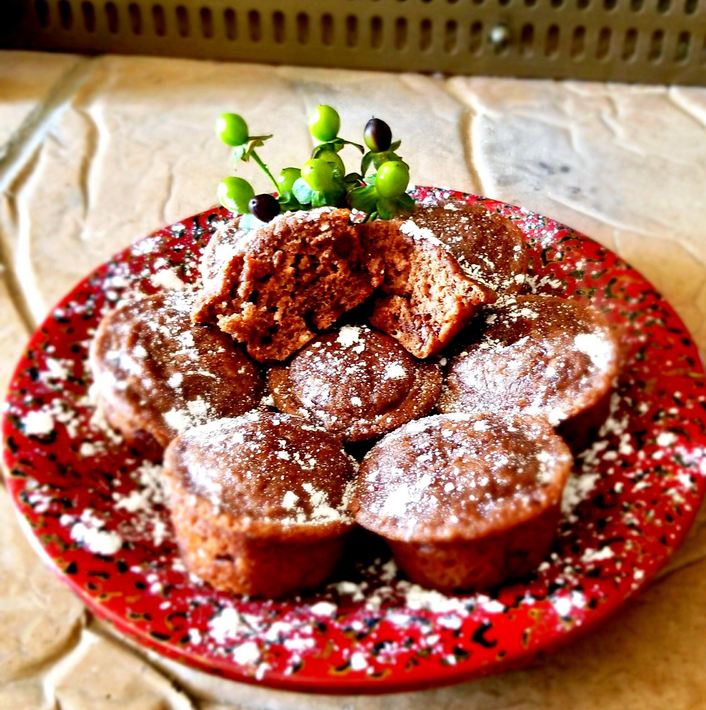 Chocolate Protein Muffins Yoly