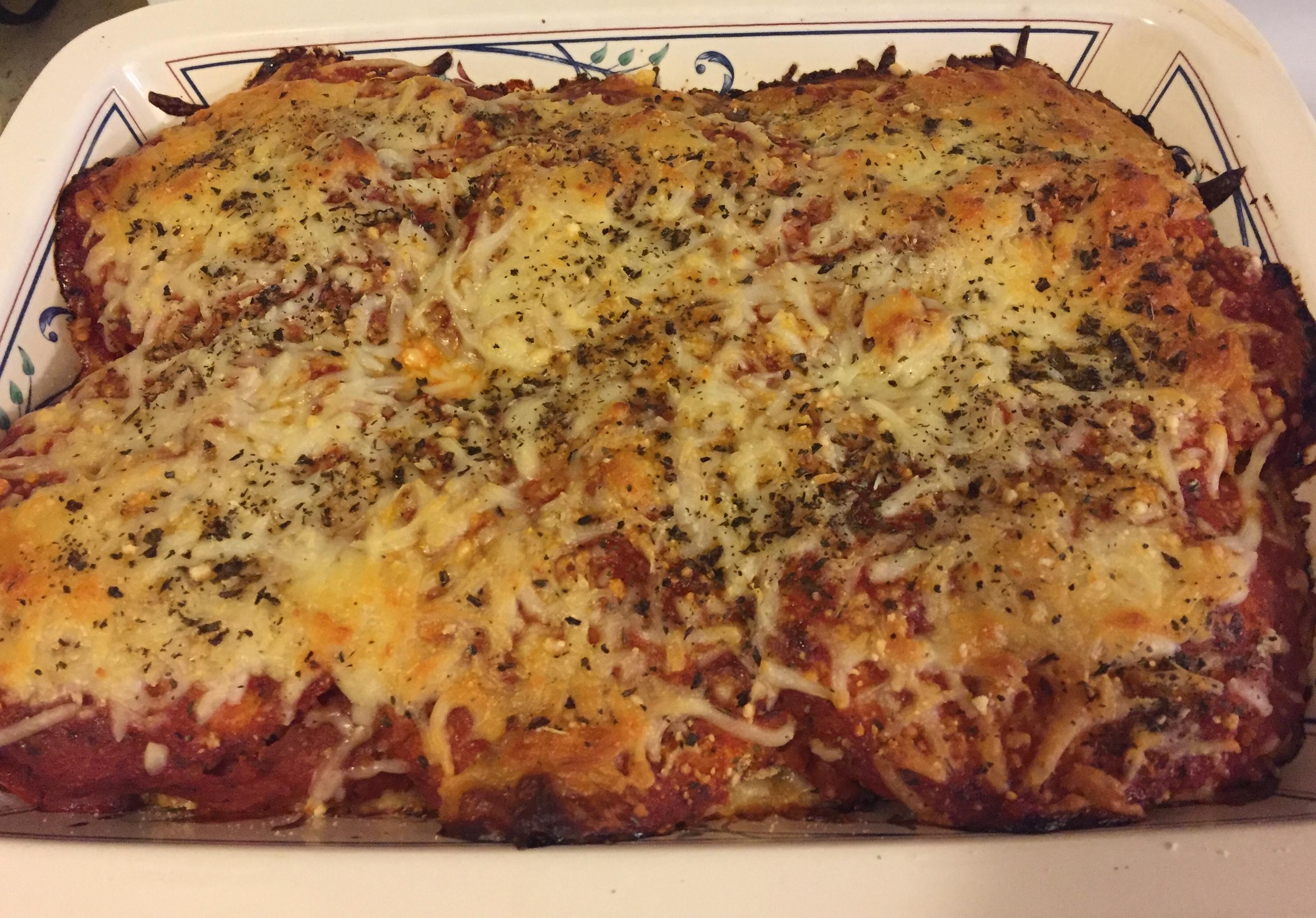Eggplant Parmesan II AmyM
