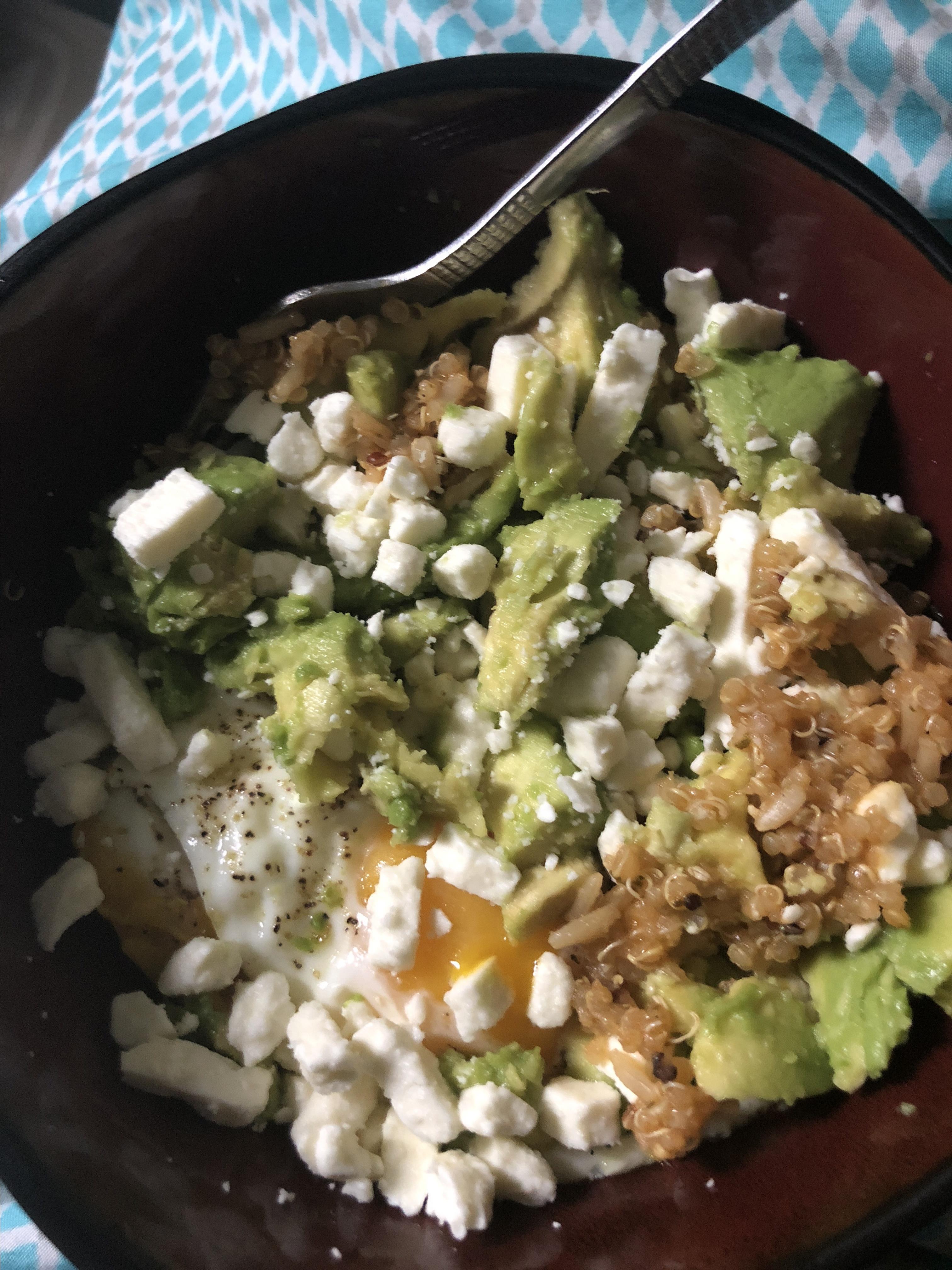 Avocado Breakfast Bowl Judith Scott