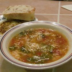 Dad's Escarole and Bean Soup