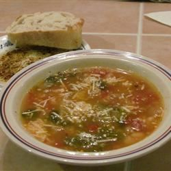 Dad's Escarole and Bean Soup Islandgirl17